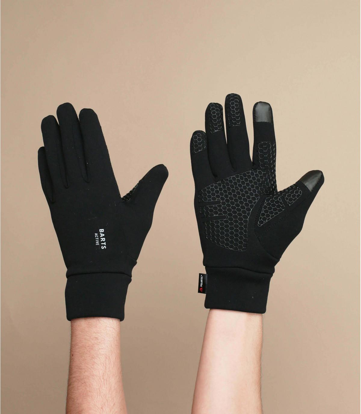Handschuhe iphone schwarz