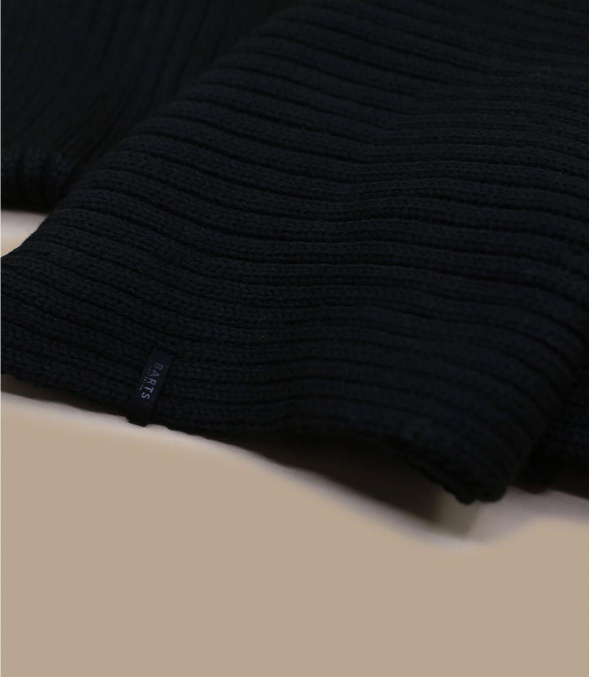 Wilbert schwarzer Schal