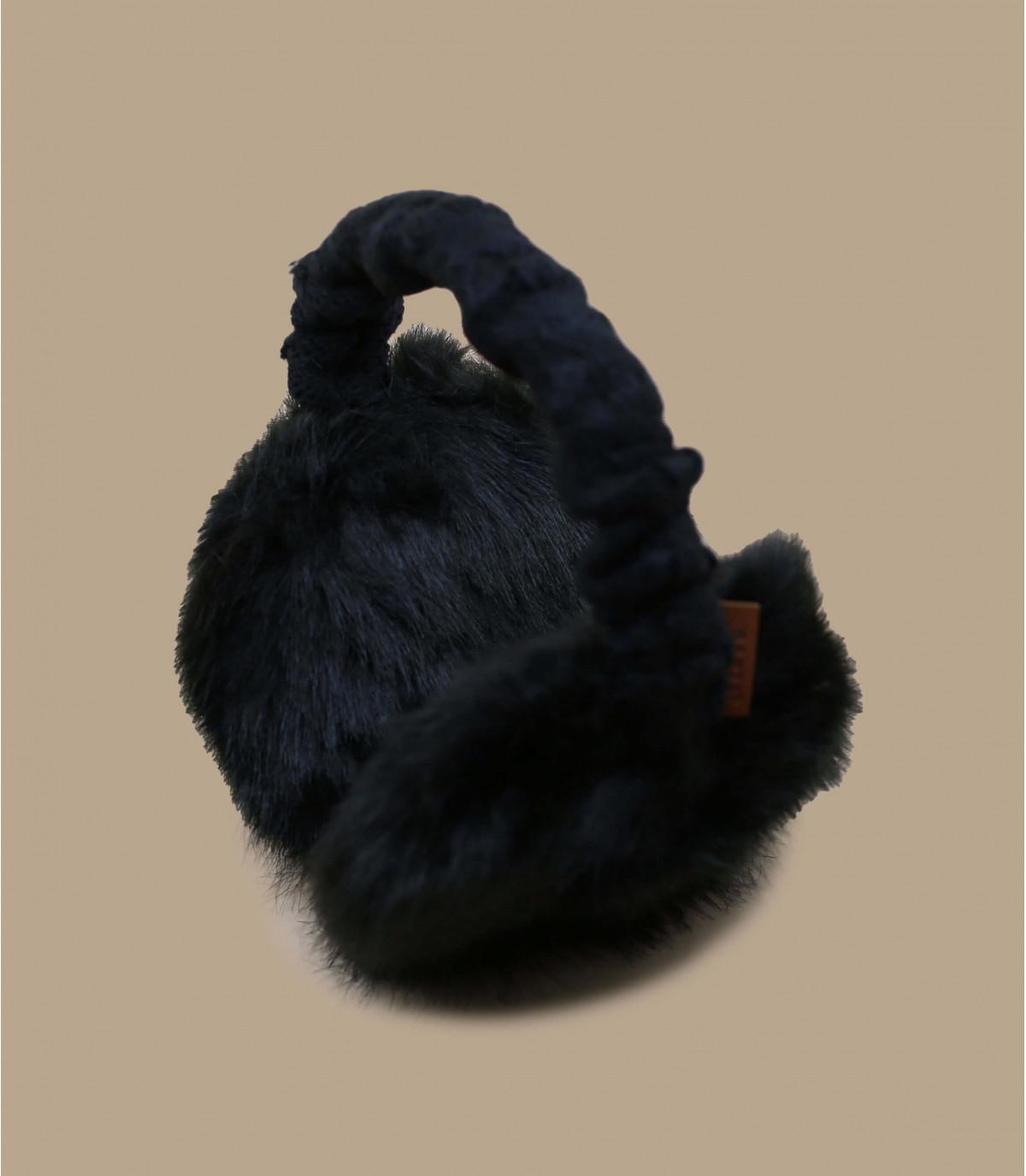 Details Fell-Ohrenschützer schwarz - Abbildung 2