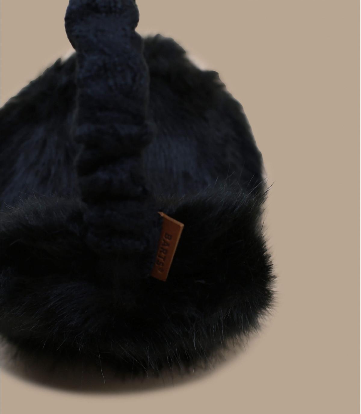 Details Fell-Ohrenschützer schwarz - Abbildung 3
