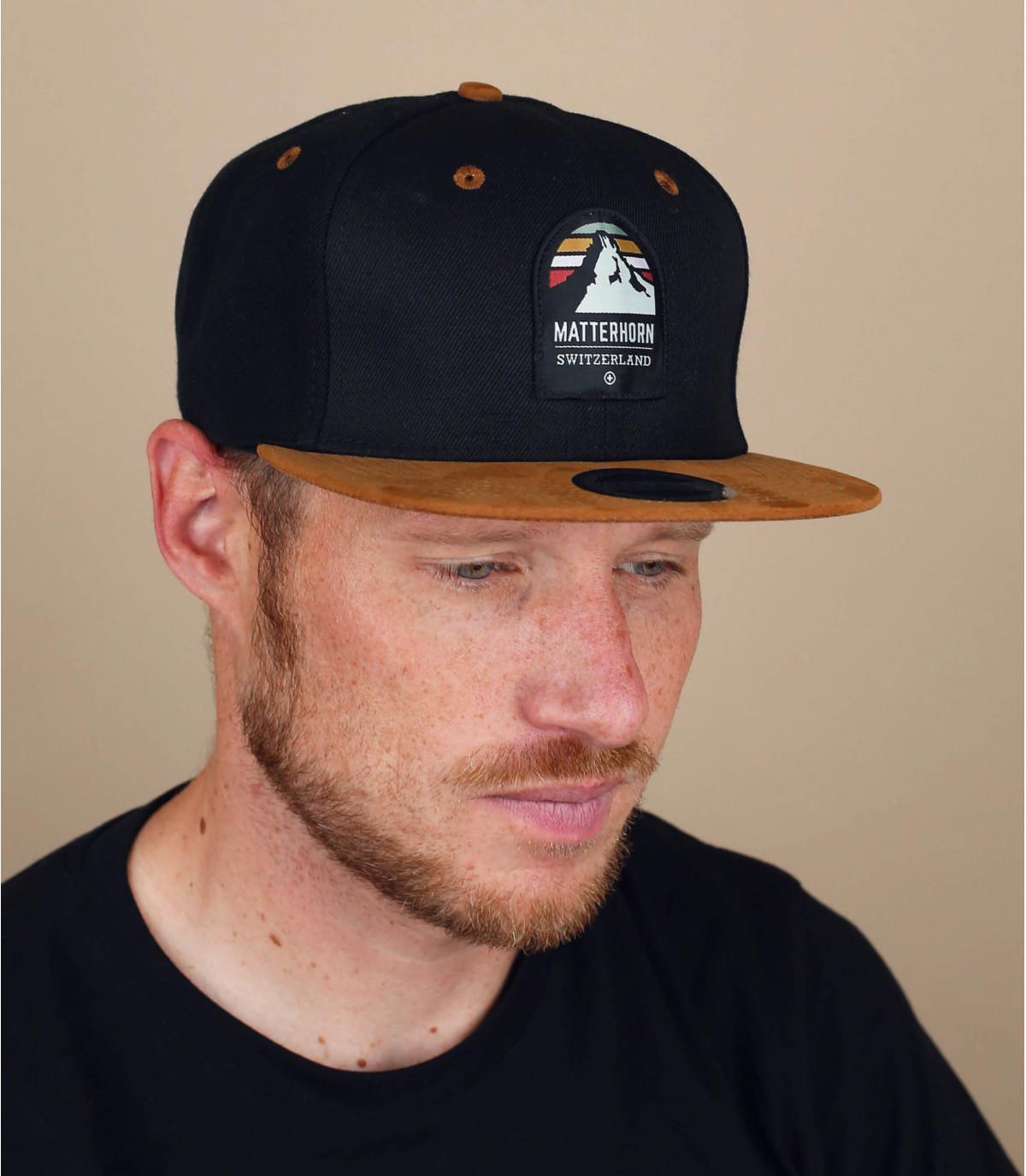 snapback matterhorn schwarz