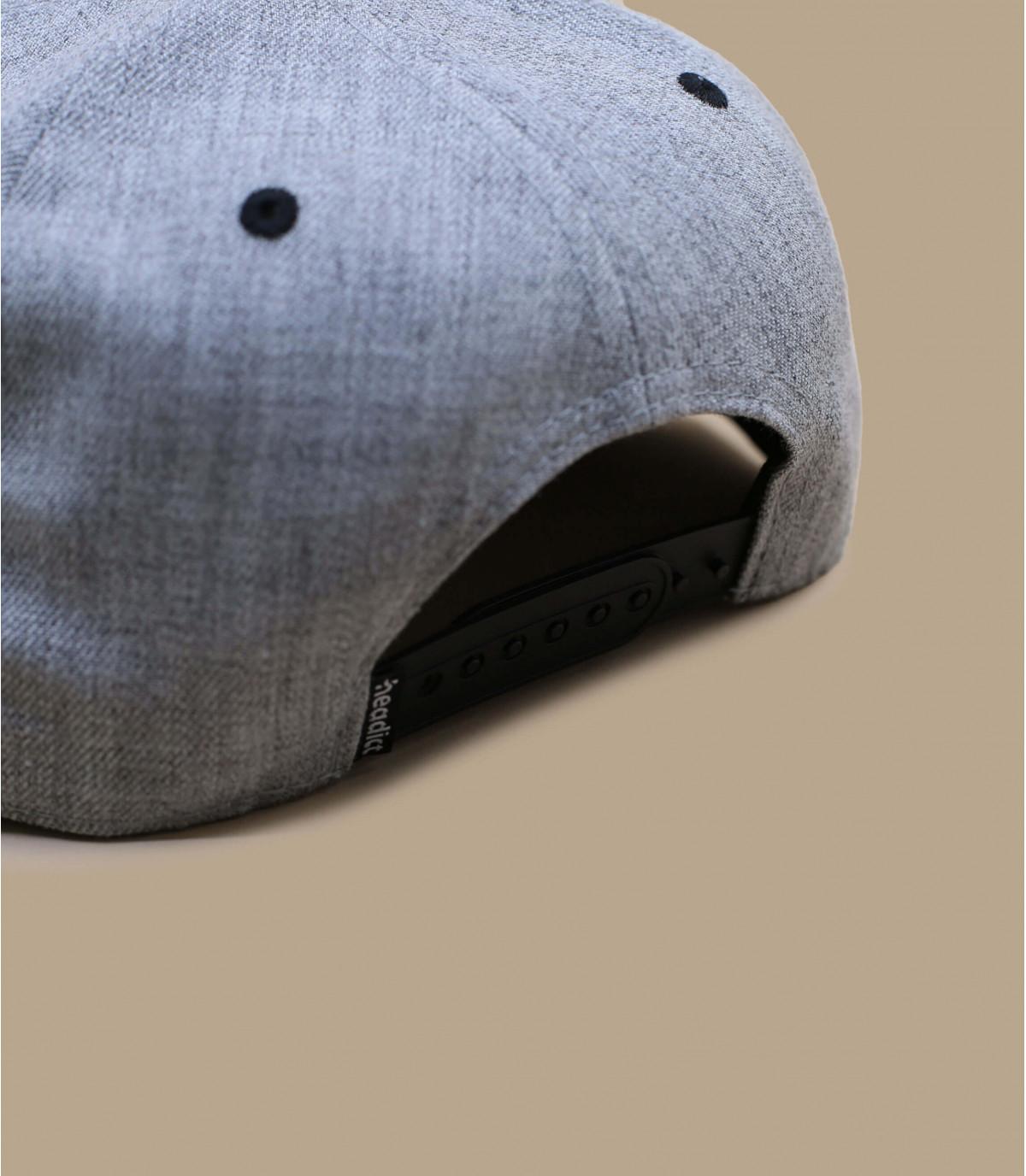 Details Snapback Cloned To Kill grey black - Abbildung 4