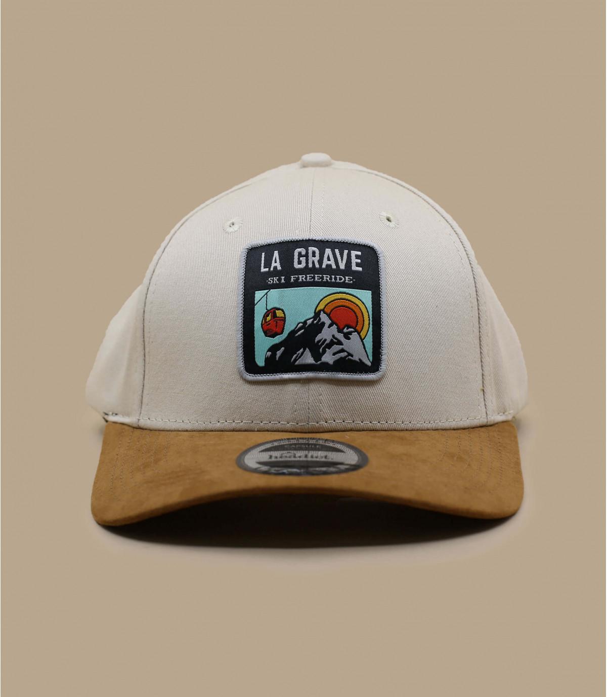 Cap La Grave beige