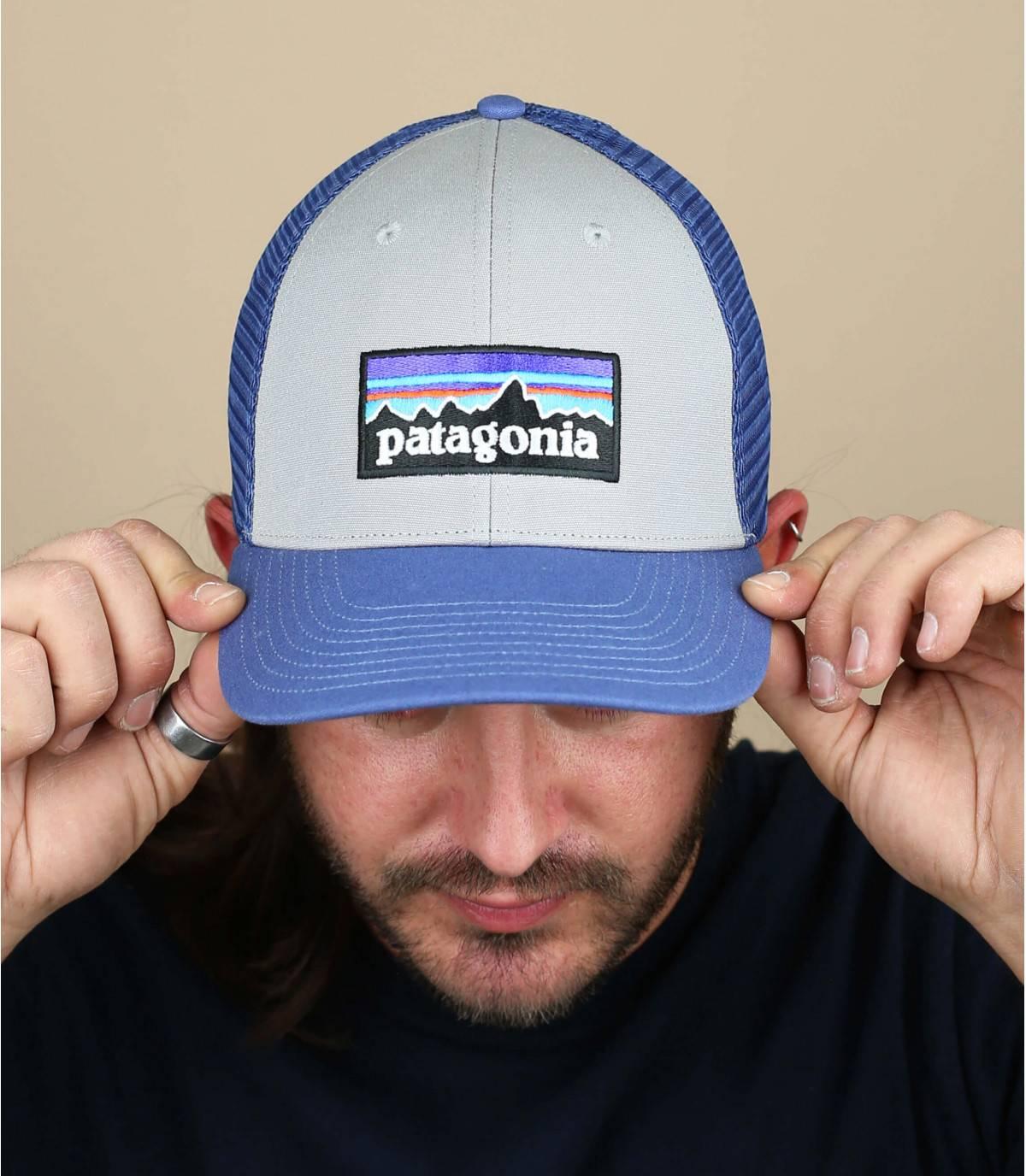 Trucker Cap Patagonia grau blau