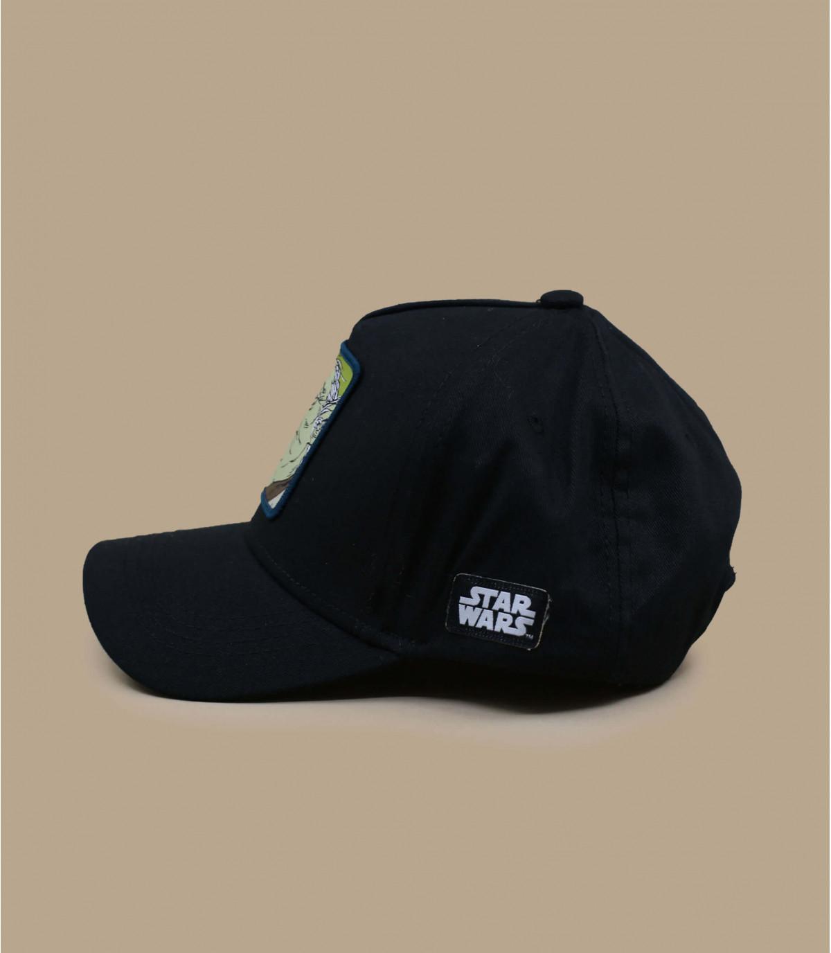 trucker Yoda schwarz