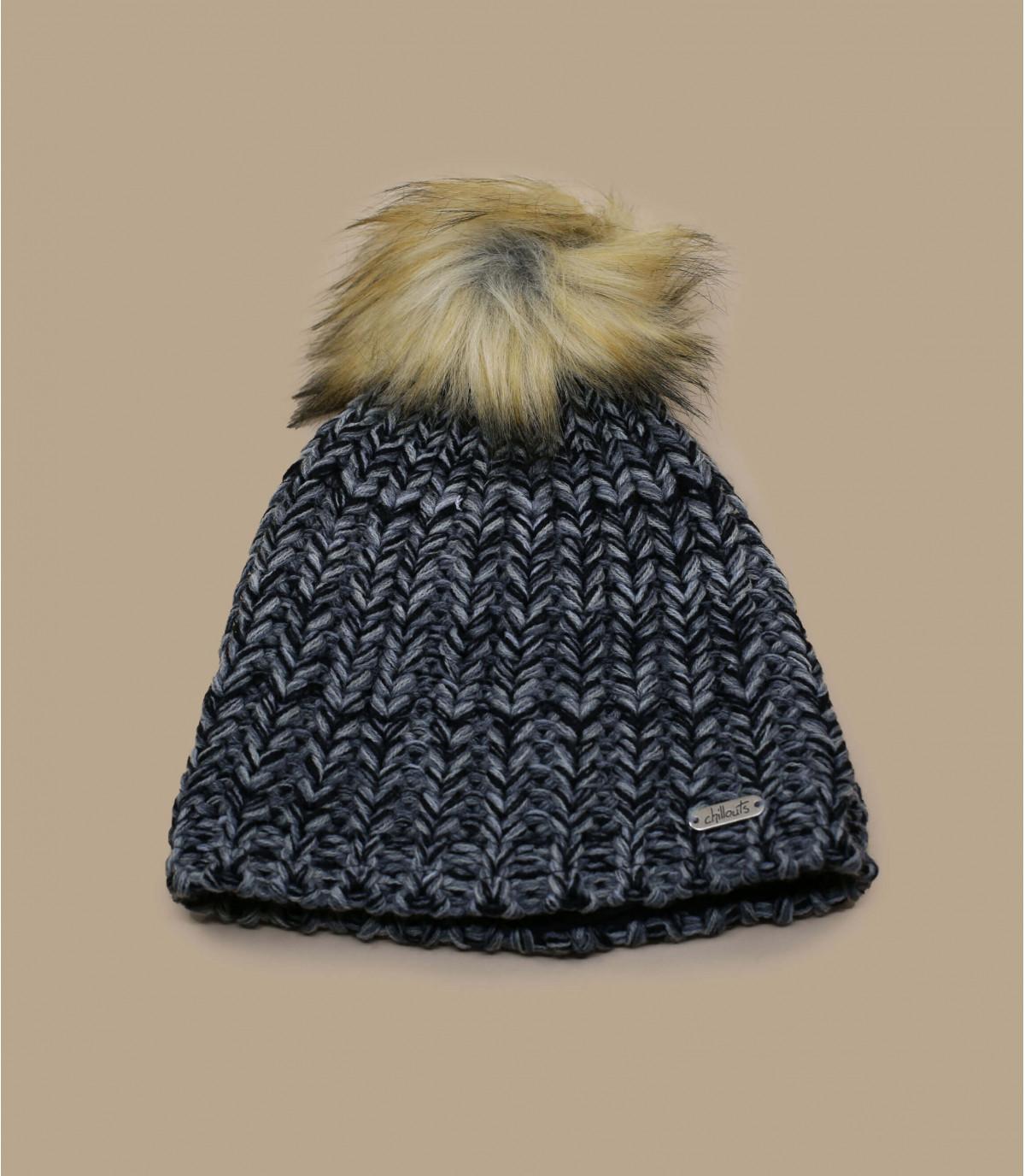 Mütze grau Fellbommel