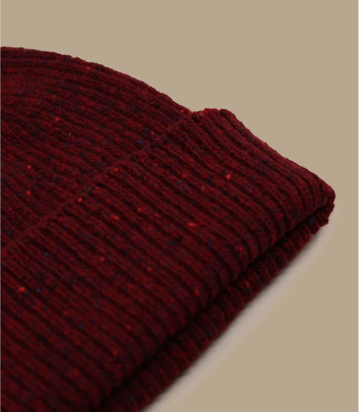 Docker Mütze bordeaux Wolle