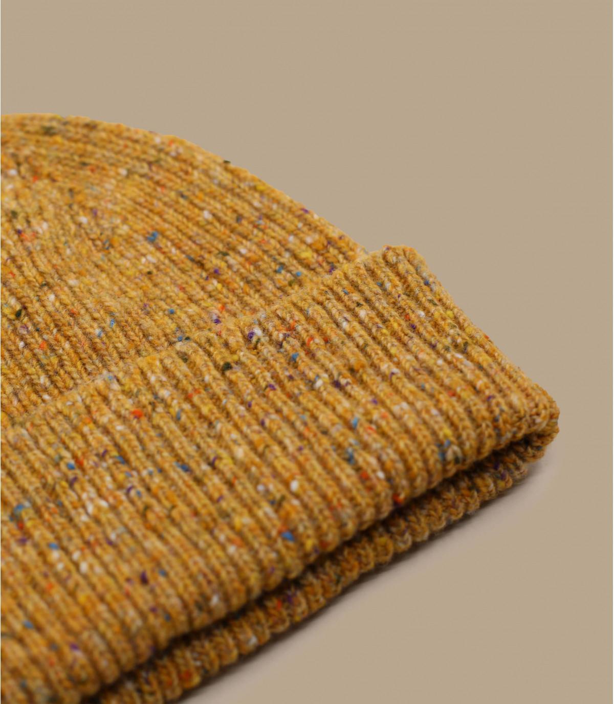 MützeRand braun Wolle