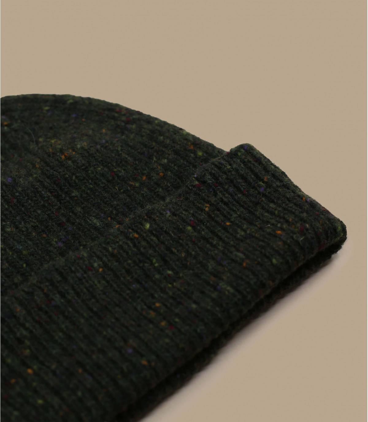 Cuff Mütze grün Wolle