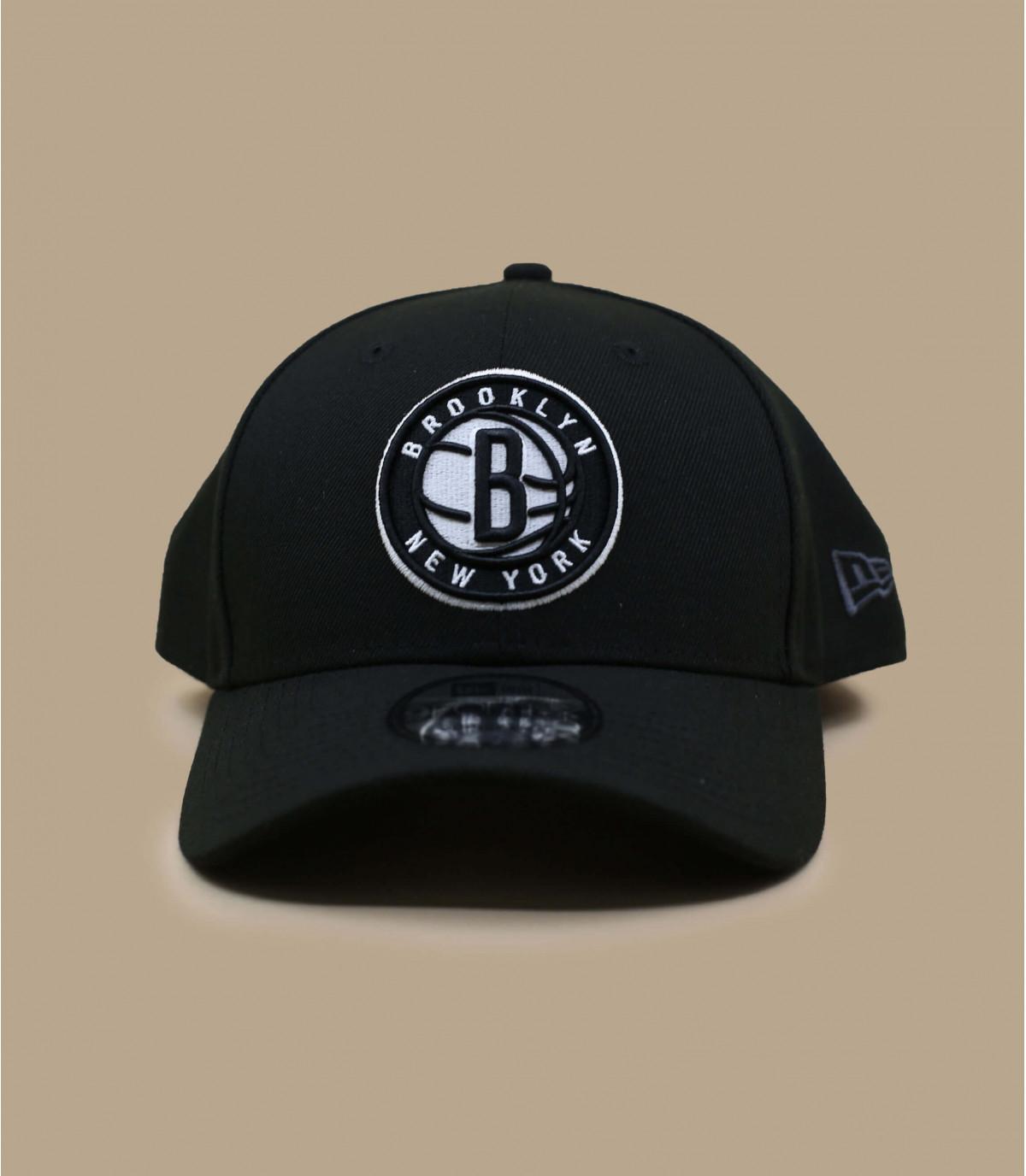 Schwarze Baseball Cap Nets NBA