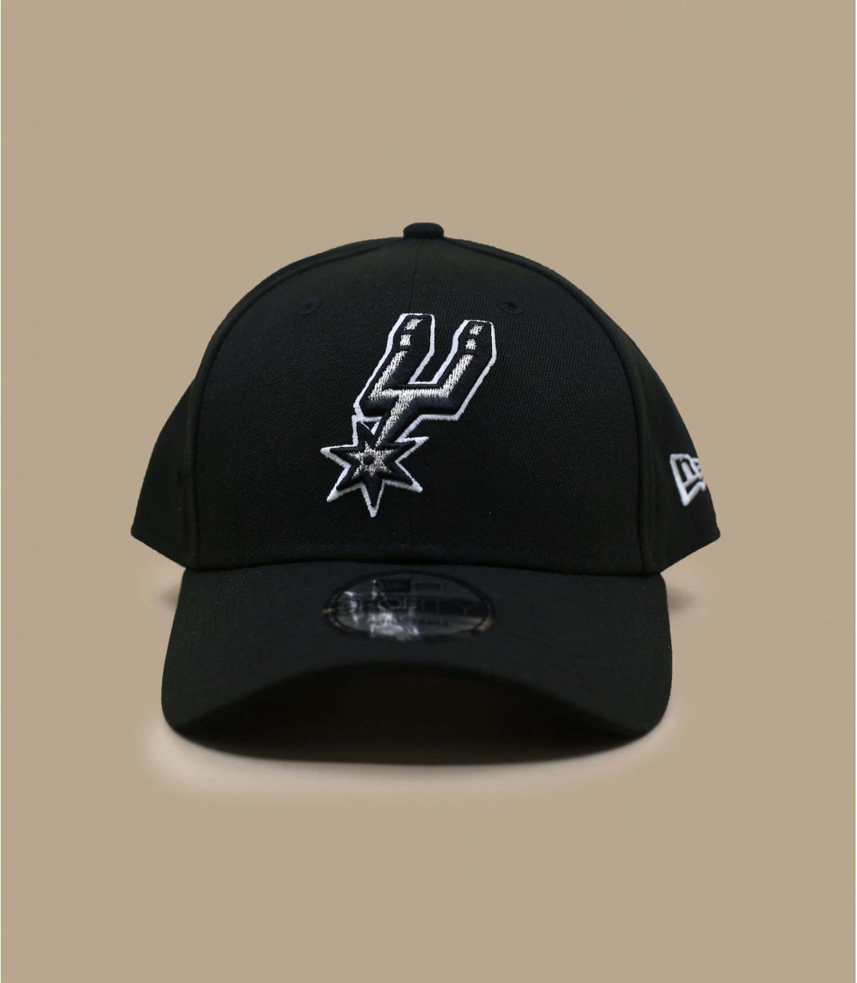 Cap Spurs NBA schwarz