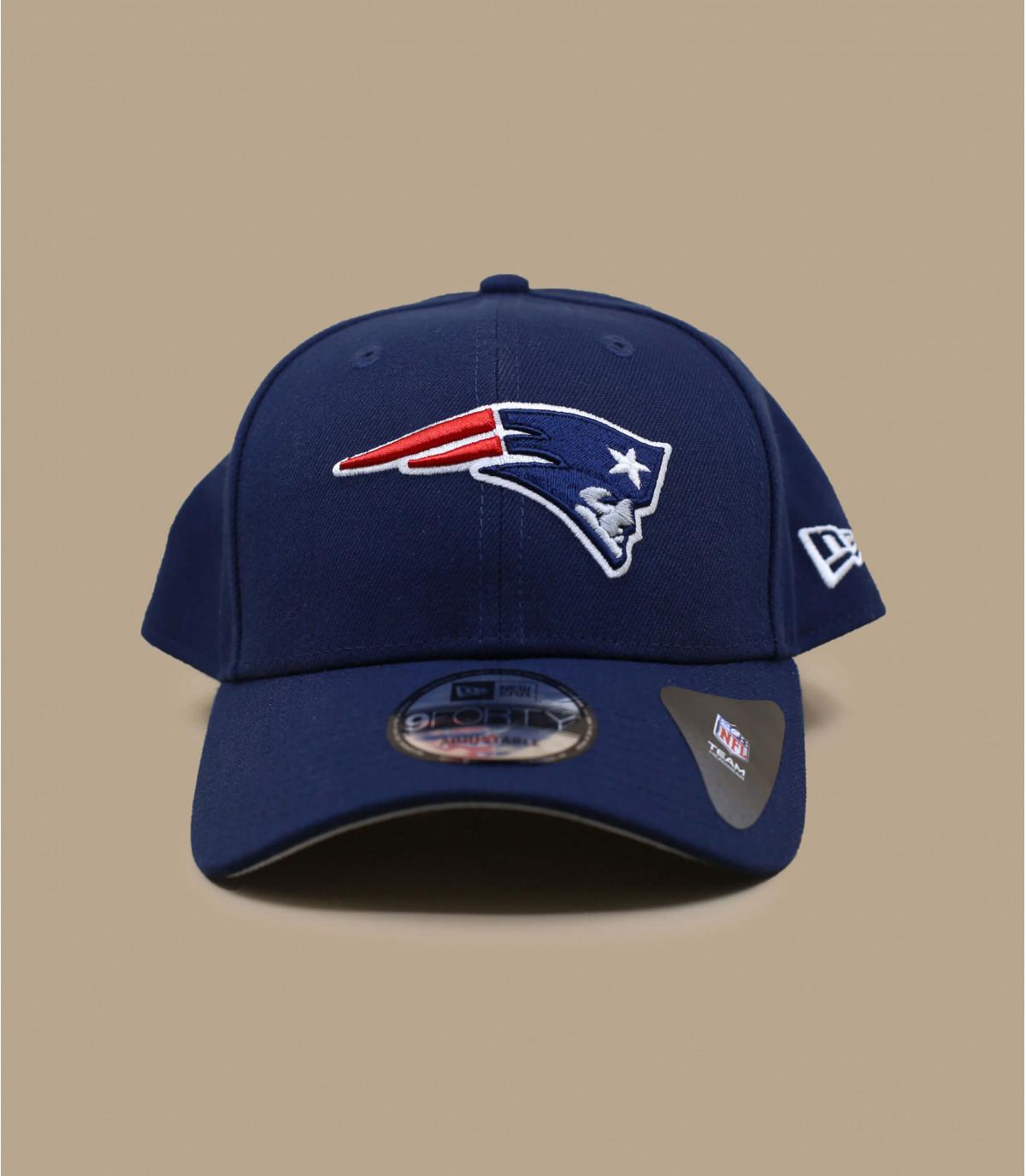Cap Patriots Schild gebogen