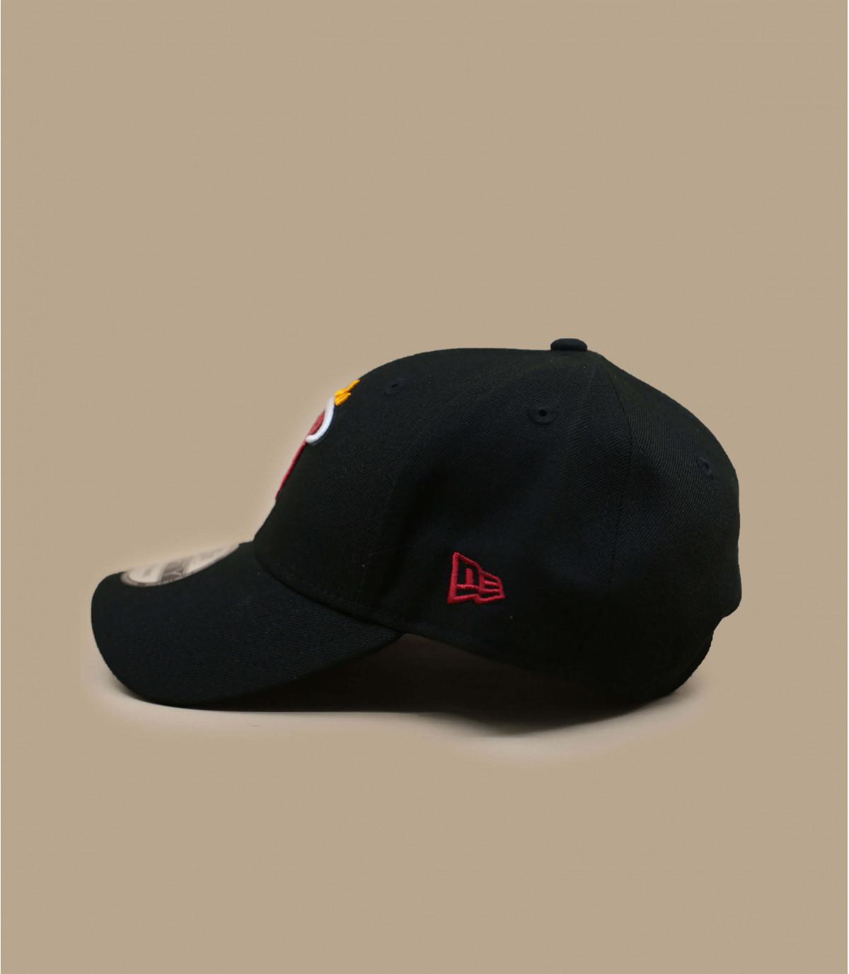 Cap  Heat NBA schwarz