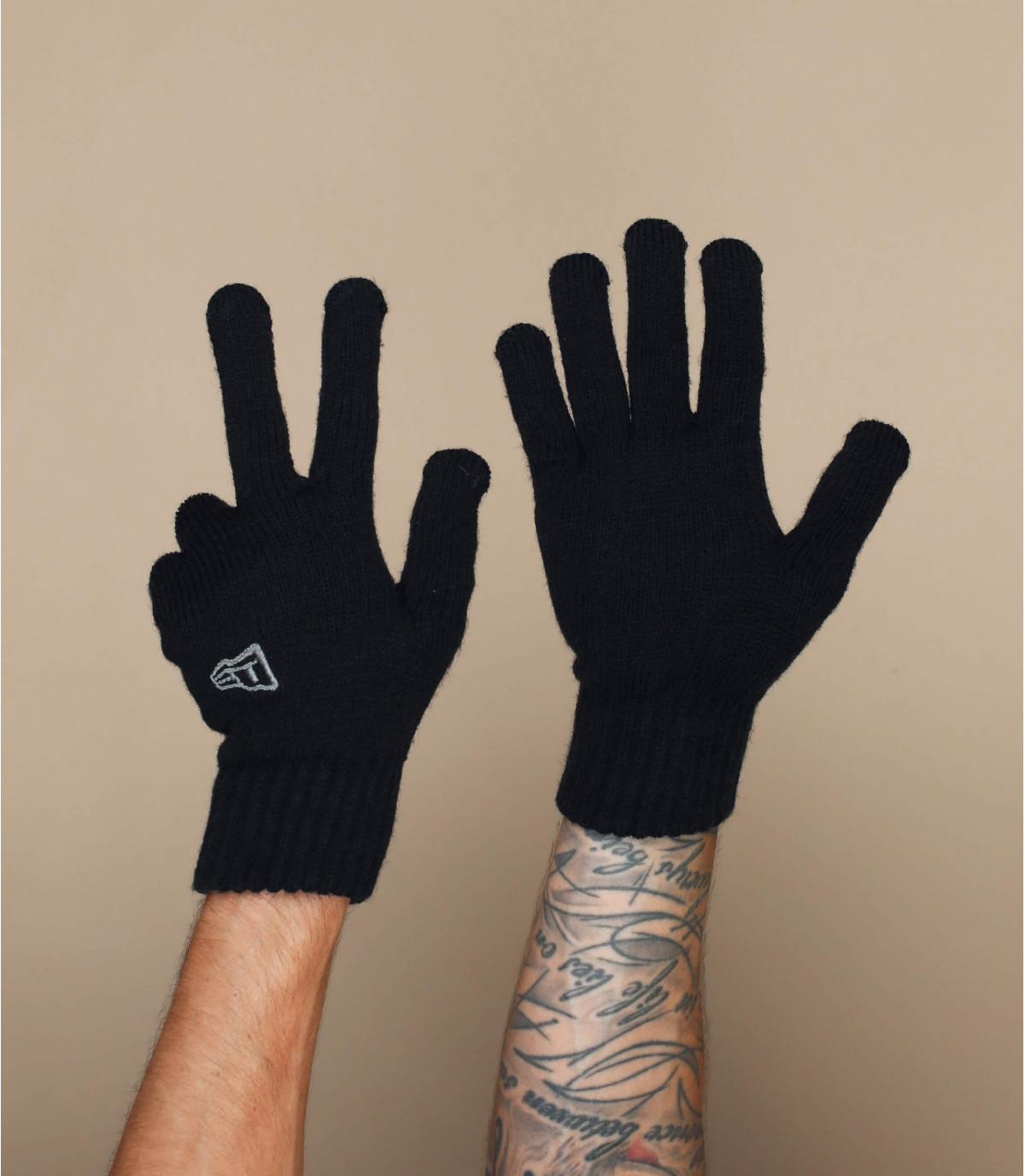 Handschuhe schwarz New Era