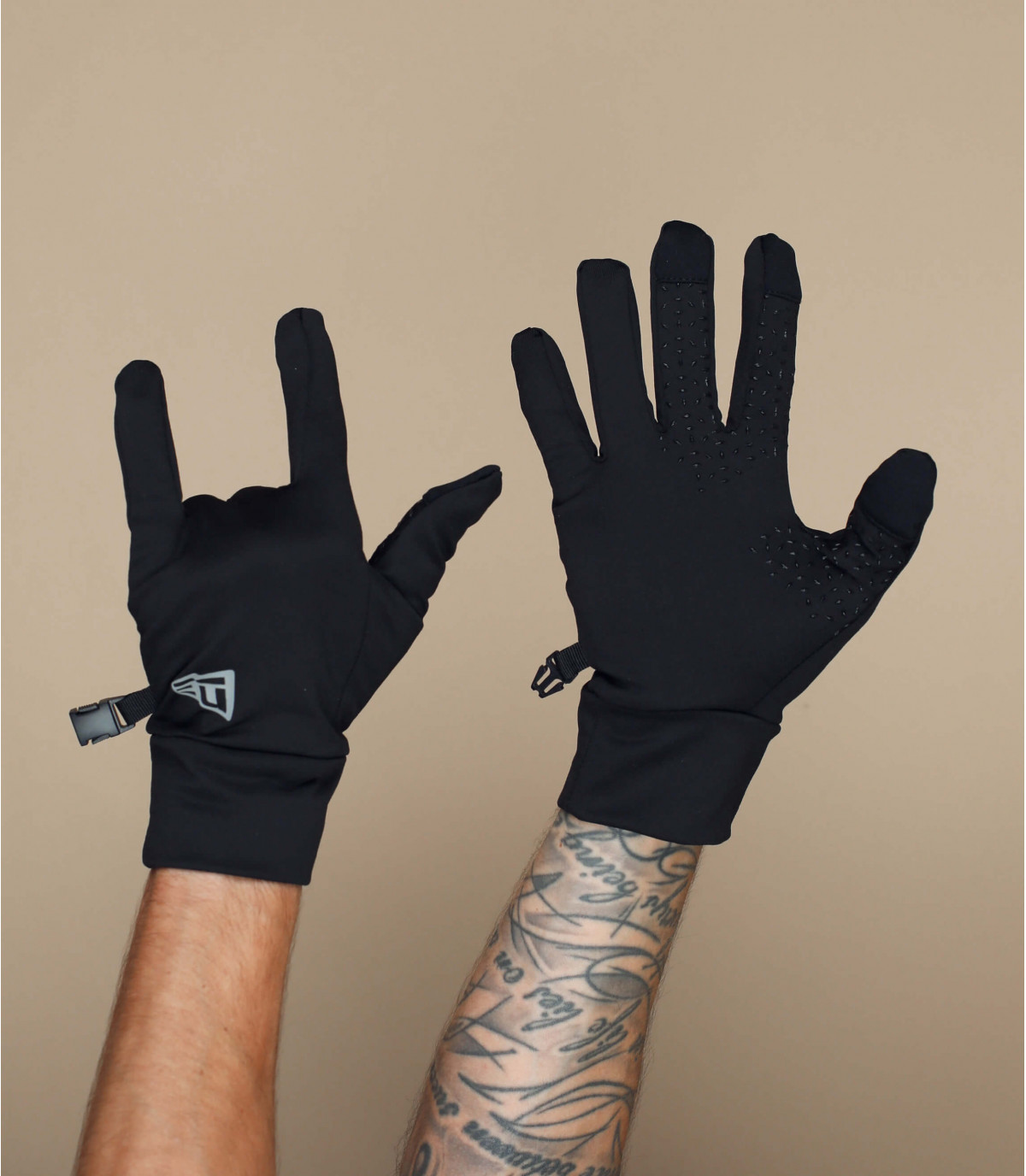 Handschuhe schwarz Smart Touch