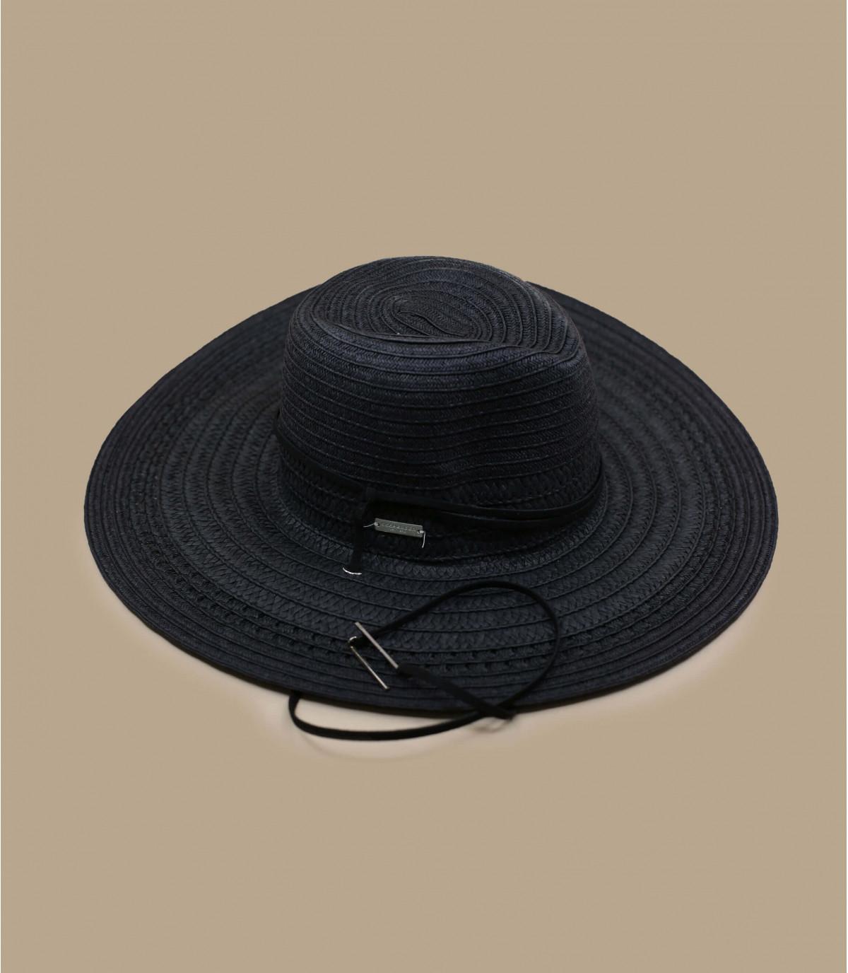 Strohhut schwarz