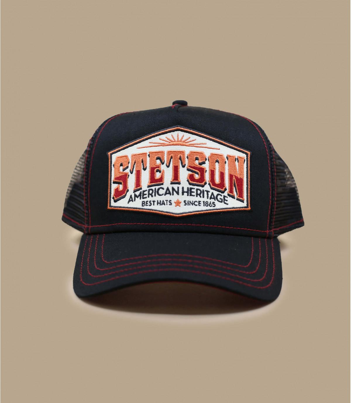 Trucker Cap schwarz Stetson