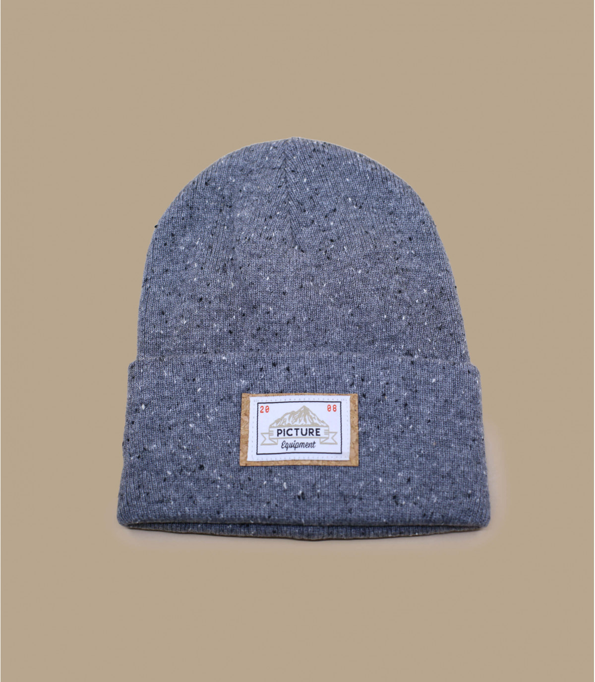 Mütze Revers grau Picture
