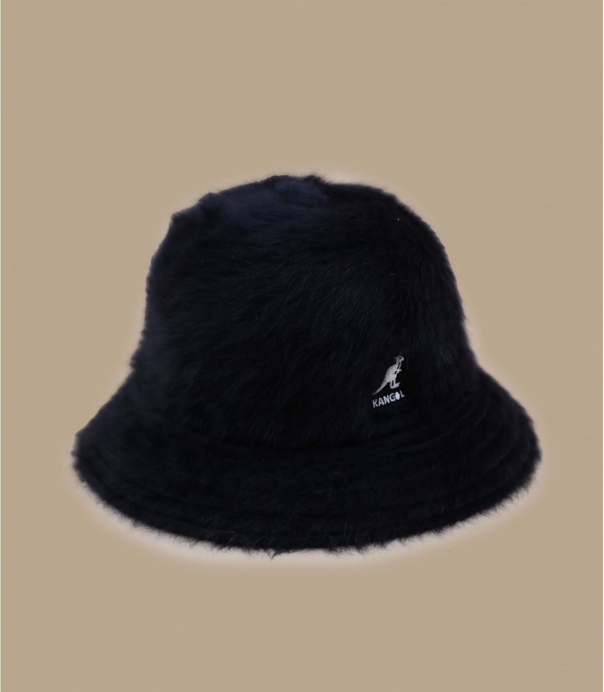 Kangol schwarzer Fischerhut