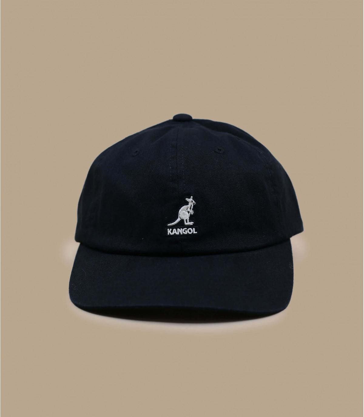 Baseball Cap Baumwolle schwarz Kangol