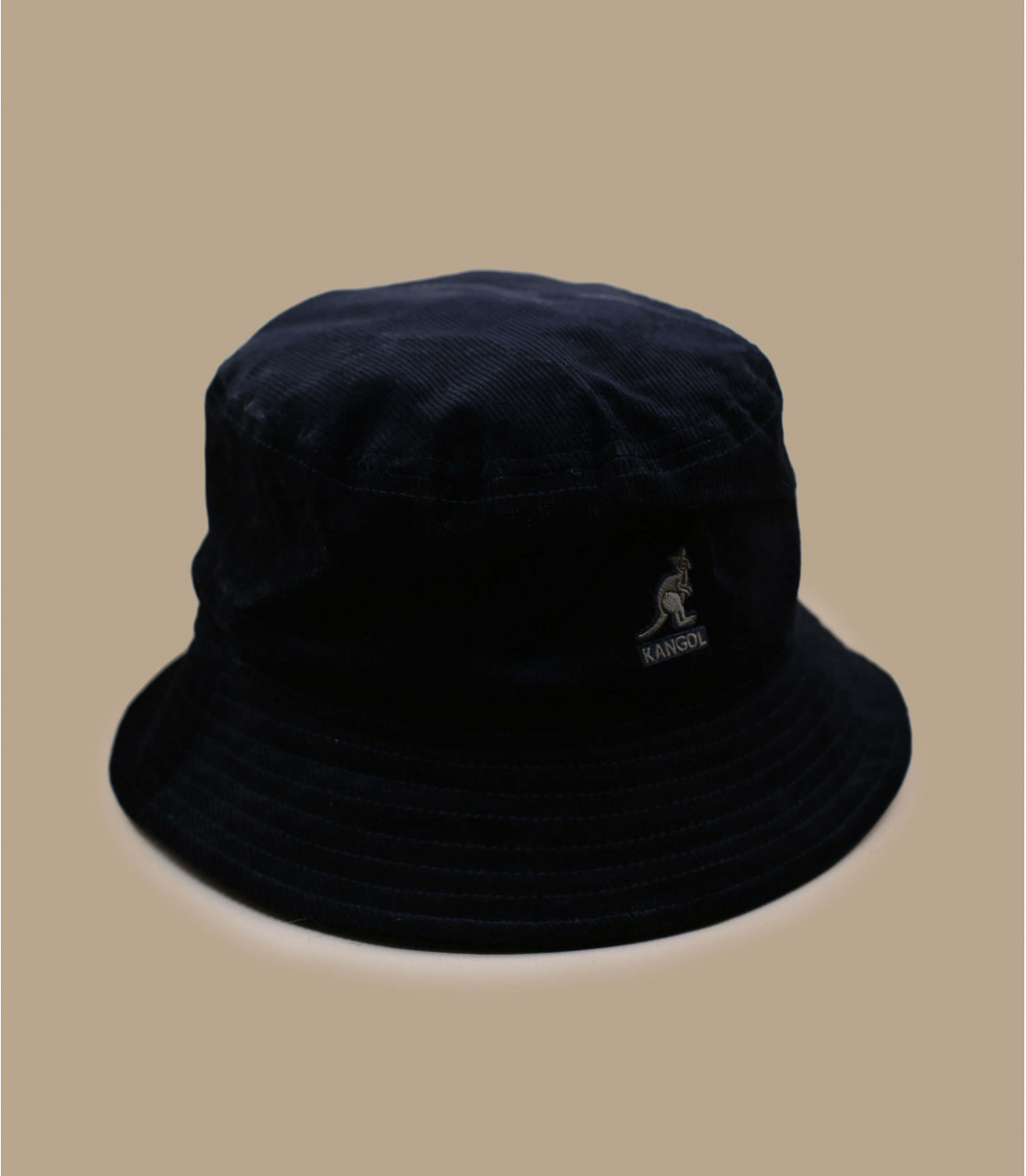 Fischerhut Samt schwarz Kangol