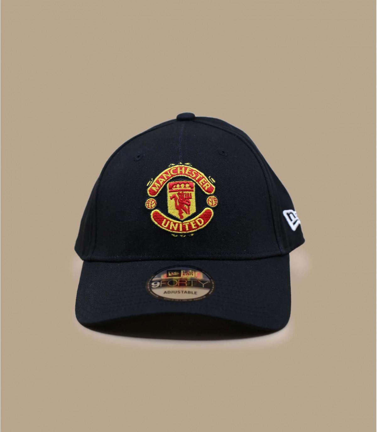 Casquette incurvée Manchester noire