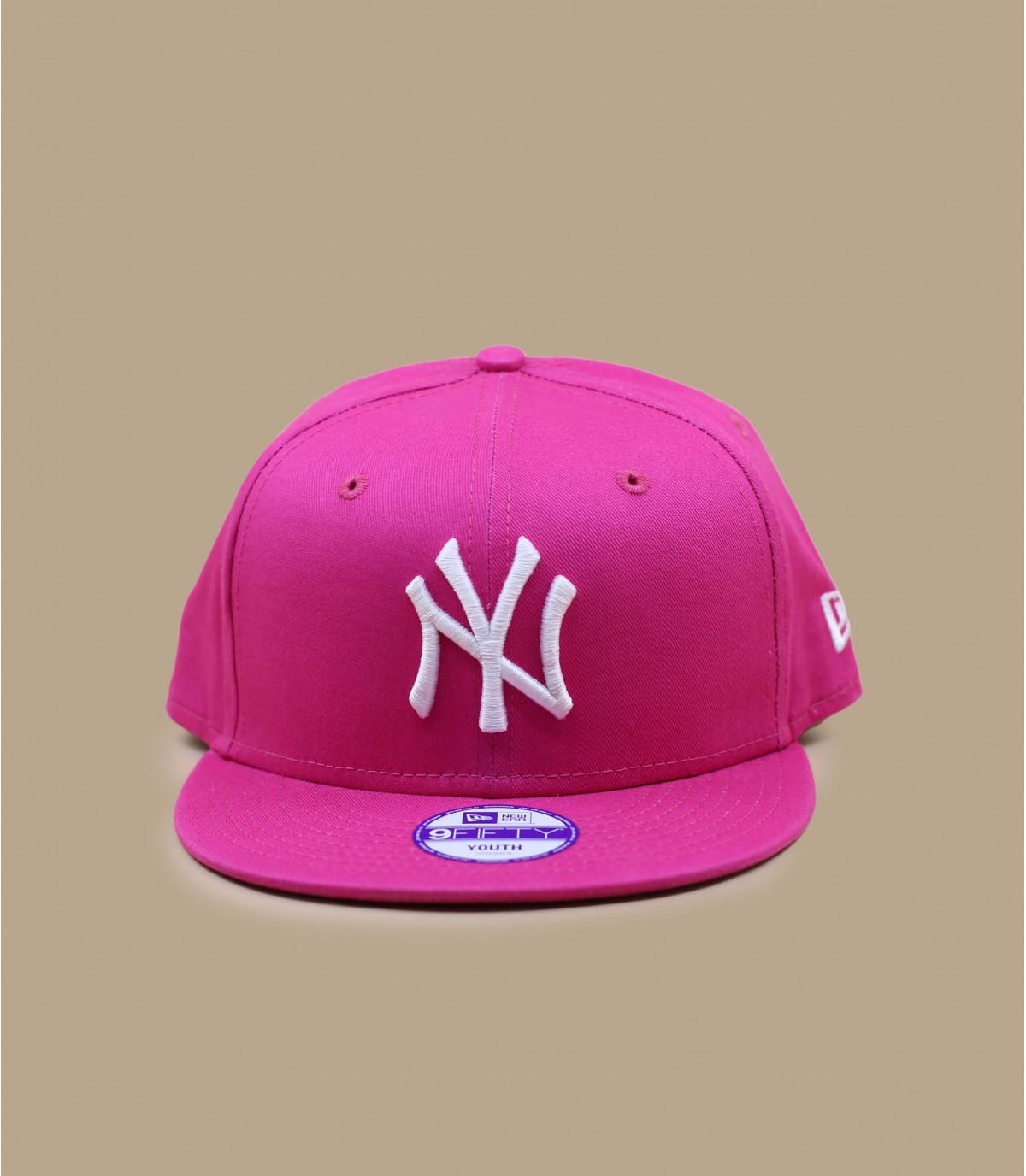 Snapback Kinder NY rosa