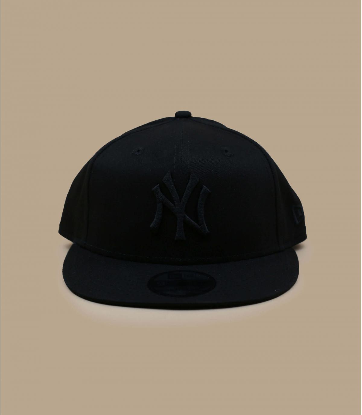 Snapback New Era schwarz