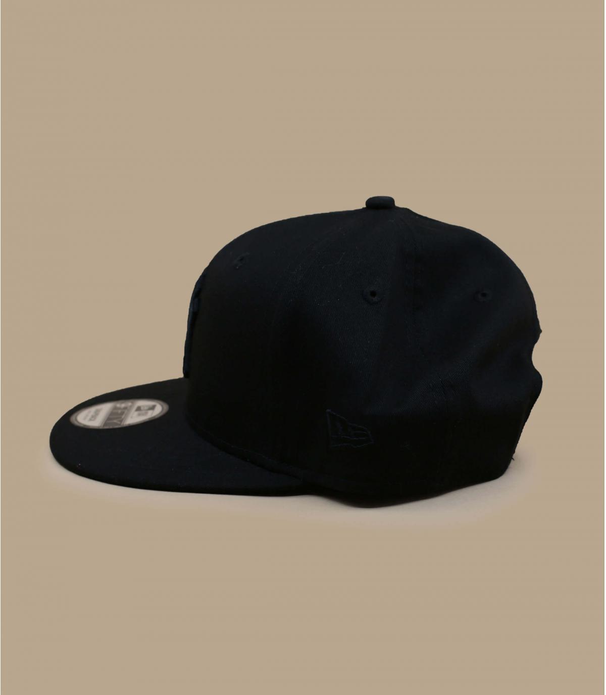 Details Snapback Cap NY MLB black black - Abbildung 3