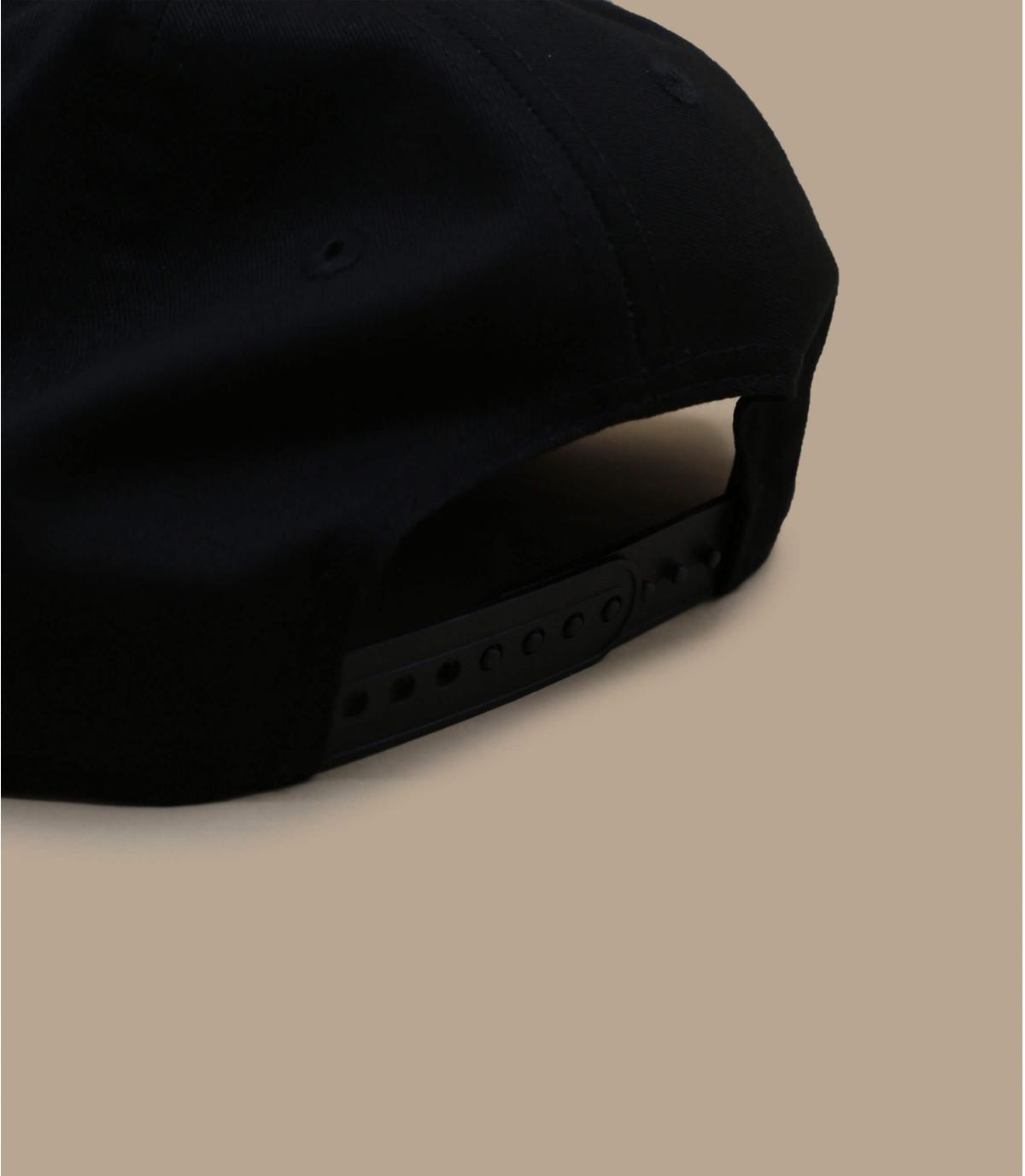 Details Snapback Cap NY MLB black black - Abbildung 4