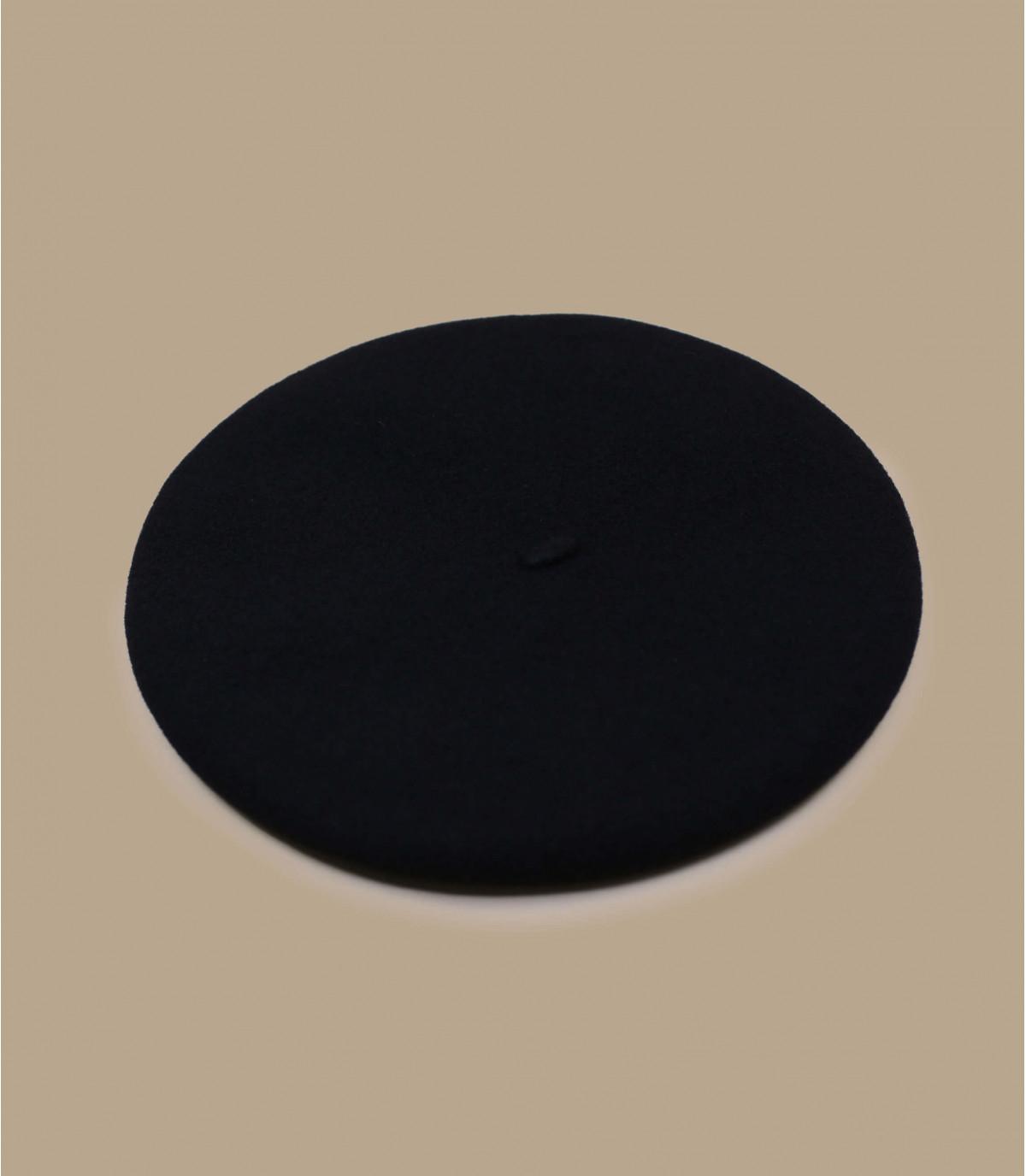 Kinder Baskenmütze schwarz