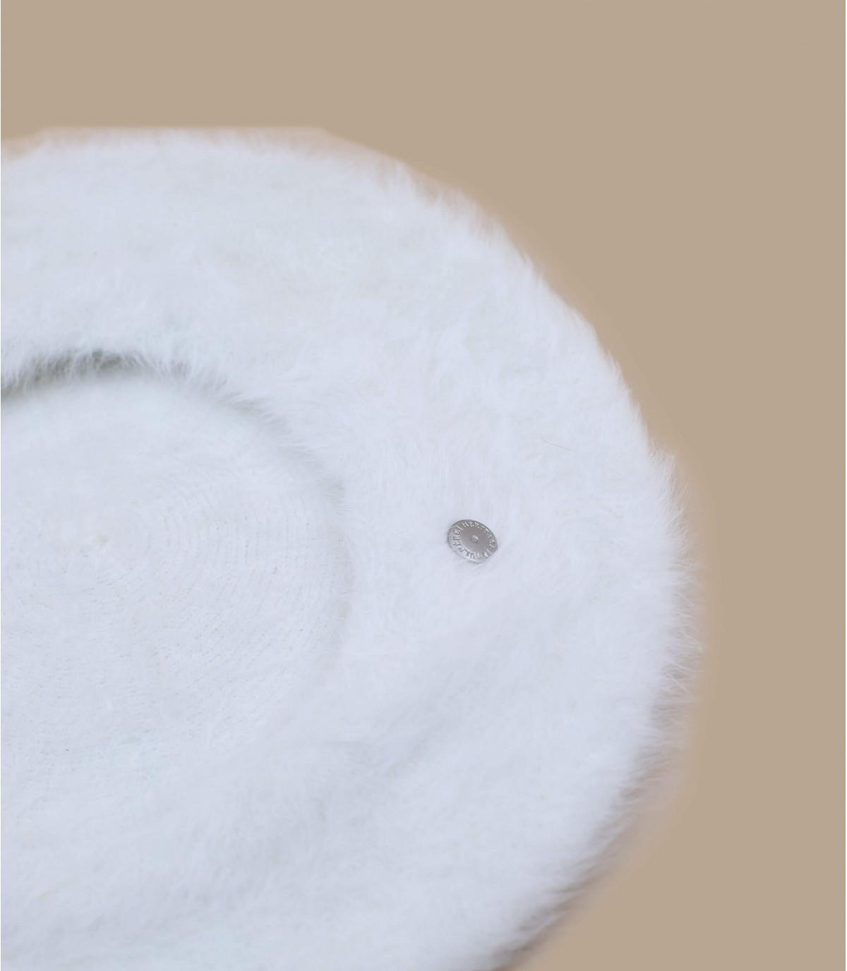 Details Béret Angora naturel - Abbildung 3