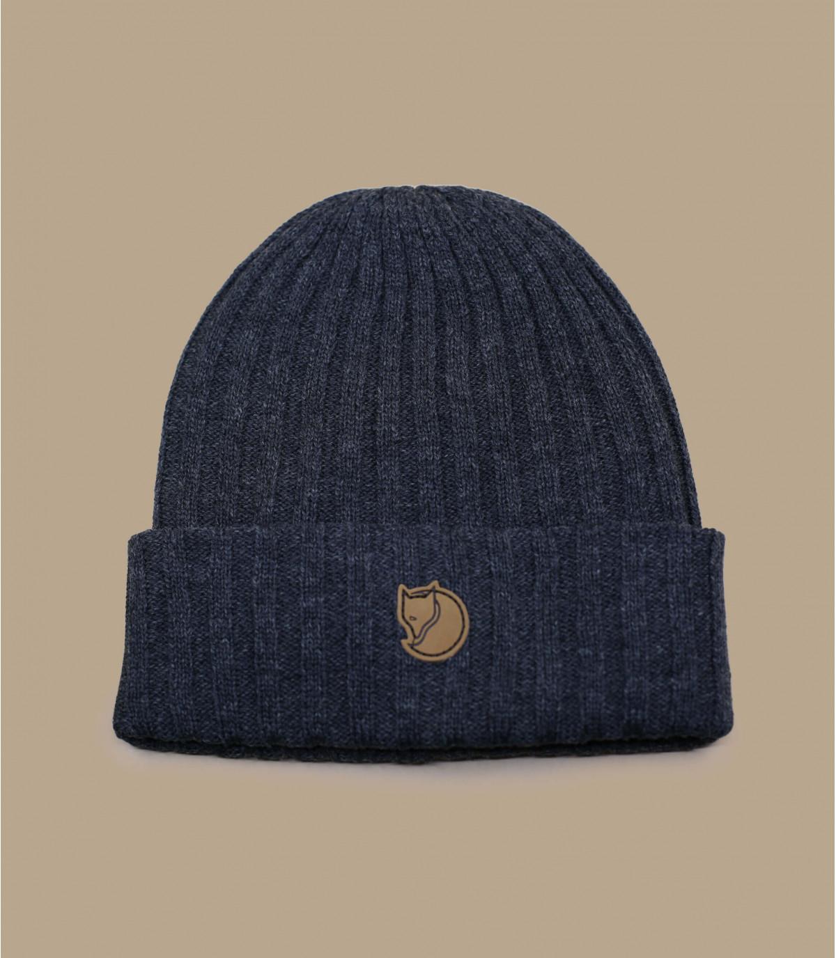Mütze Revers Fjällräven grau