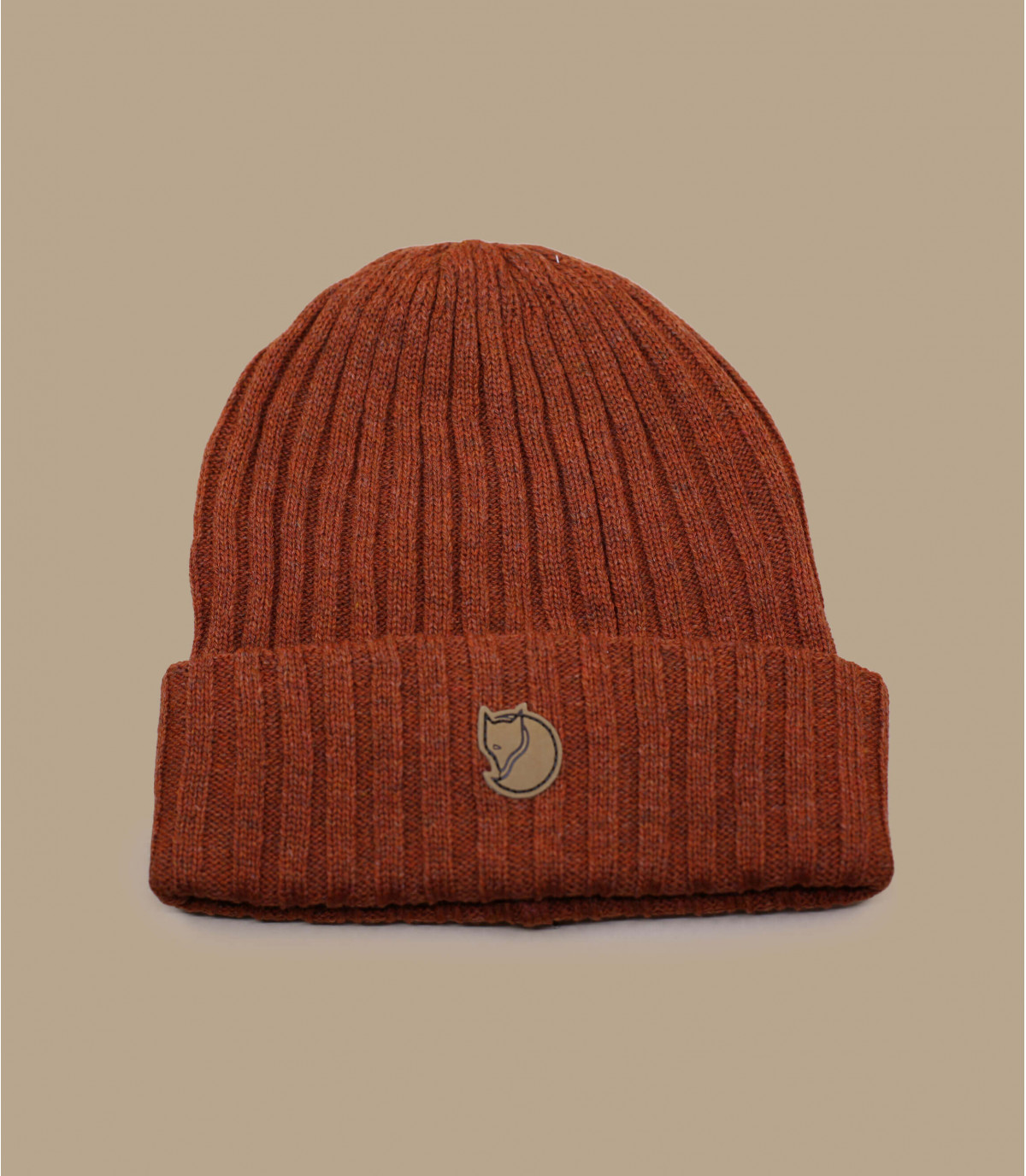 Mütze Revers Fjällräven Rost