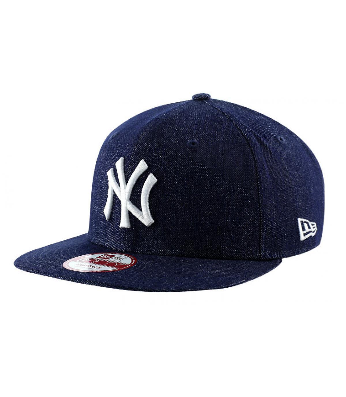 Details Snapback Cap NY MLB denim basic - Abbildung 2