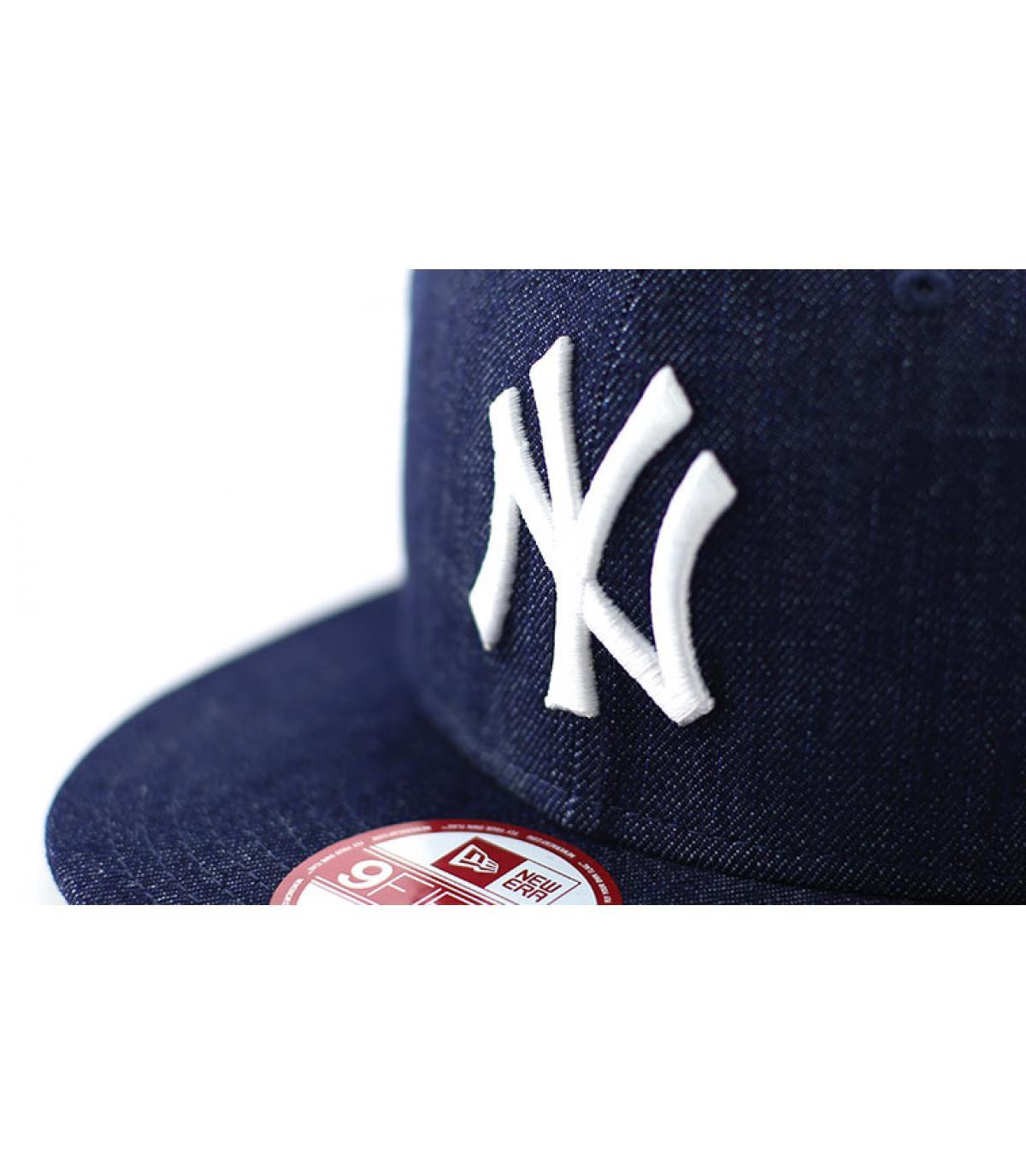 Details Snapback Cap NY MLB denim basic - Abbildung 3