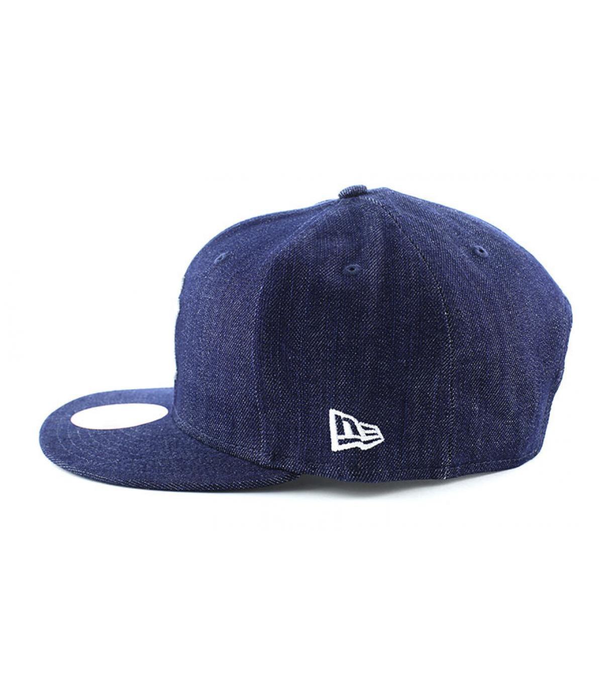 Details Snapback Cap NY MLB denim basic - Abbildung 4