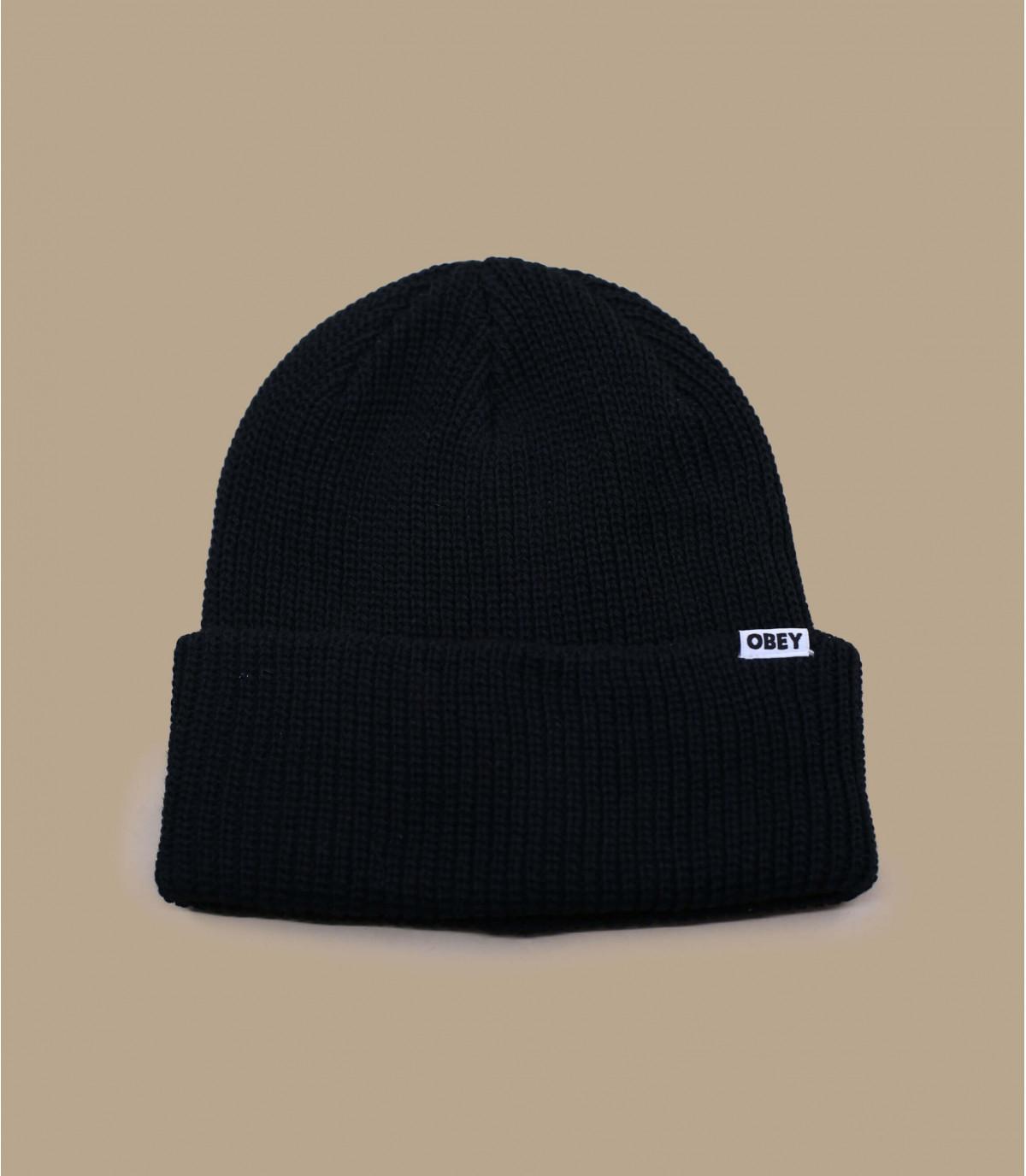 Schwarze Mütze Bio Obey