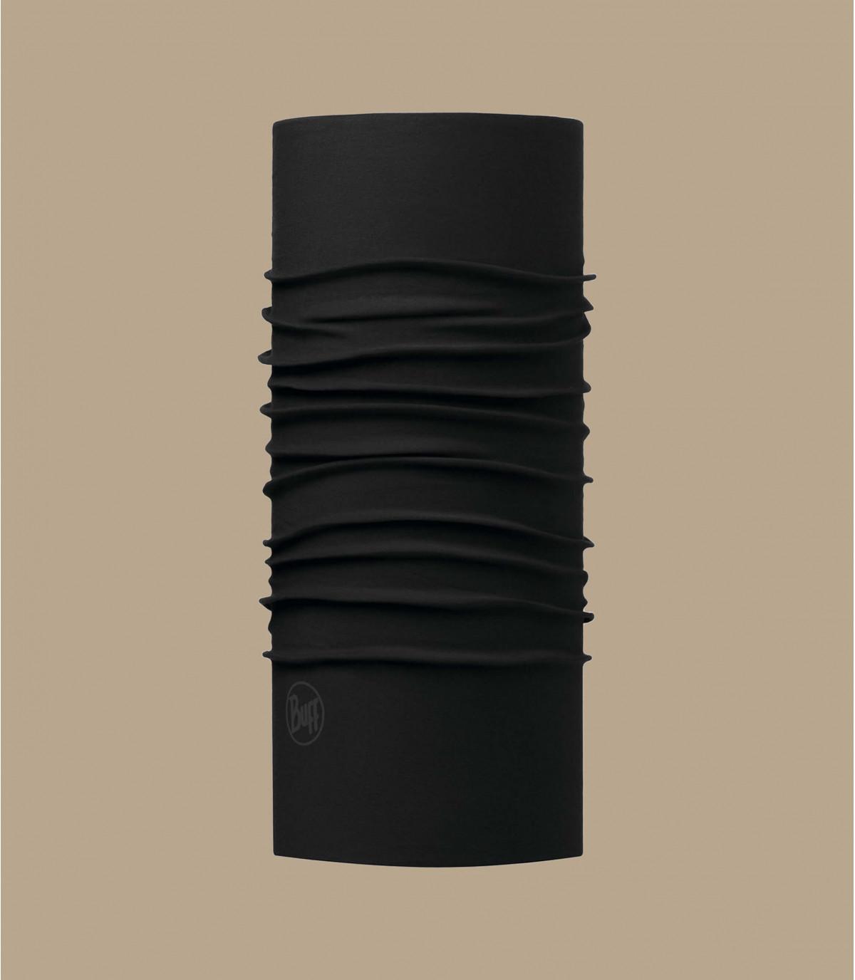 Buff schwarz microfaser