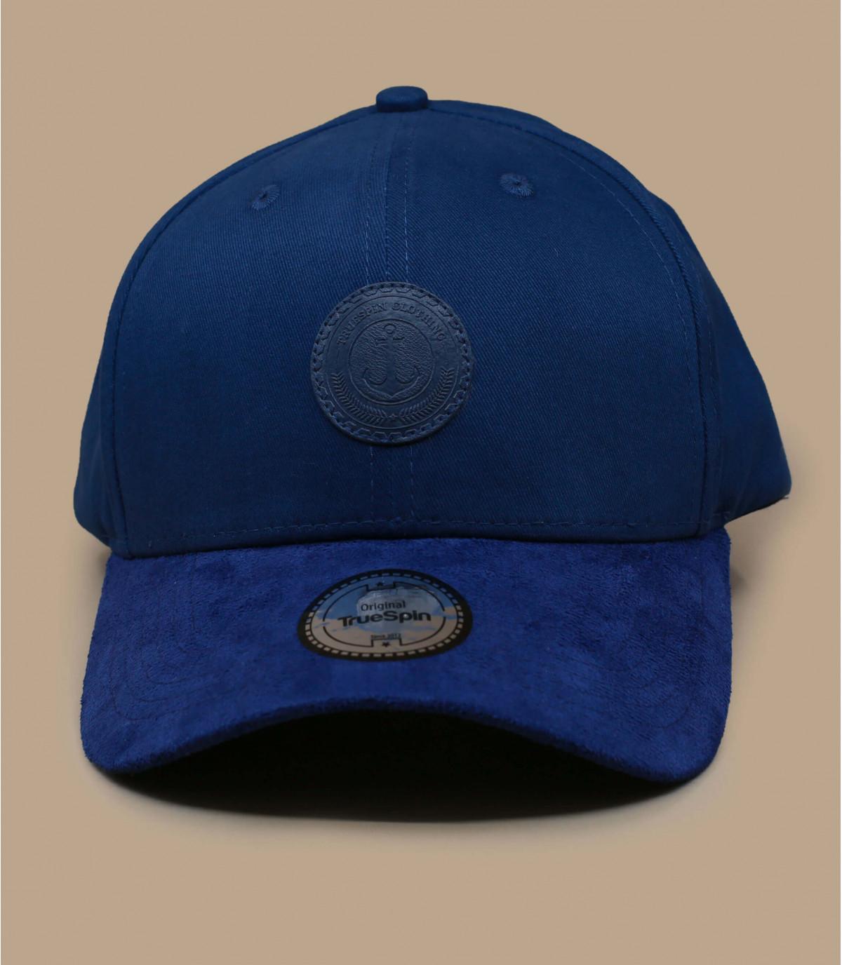 Cap Anker blau