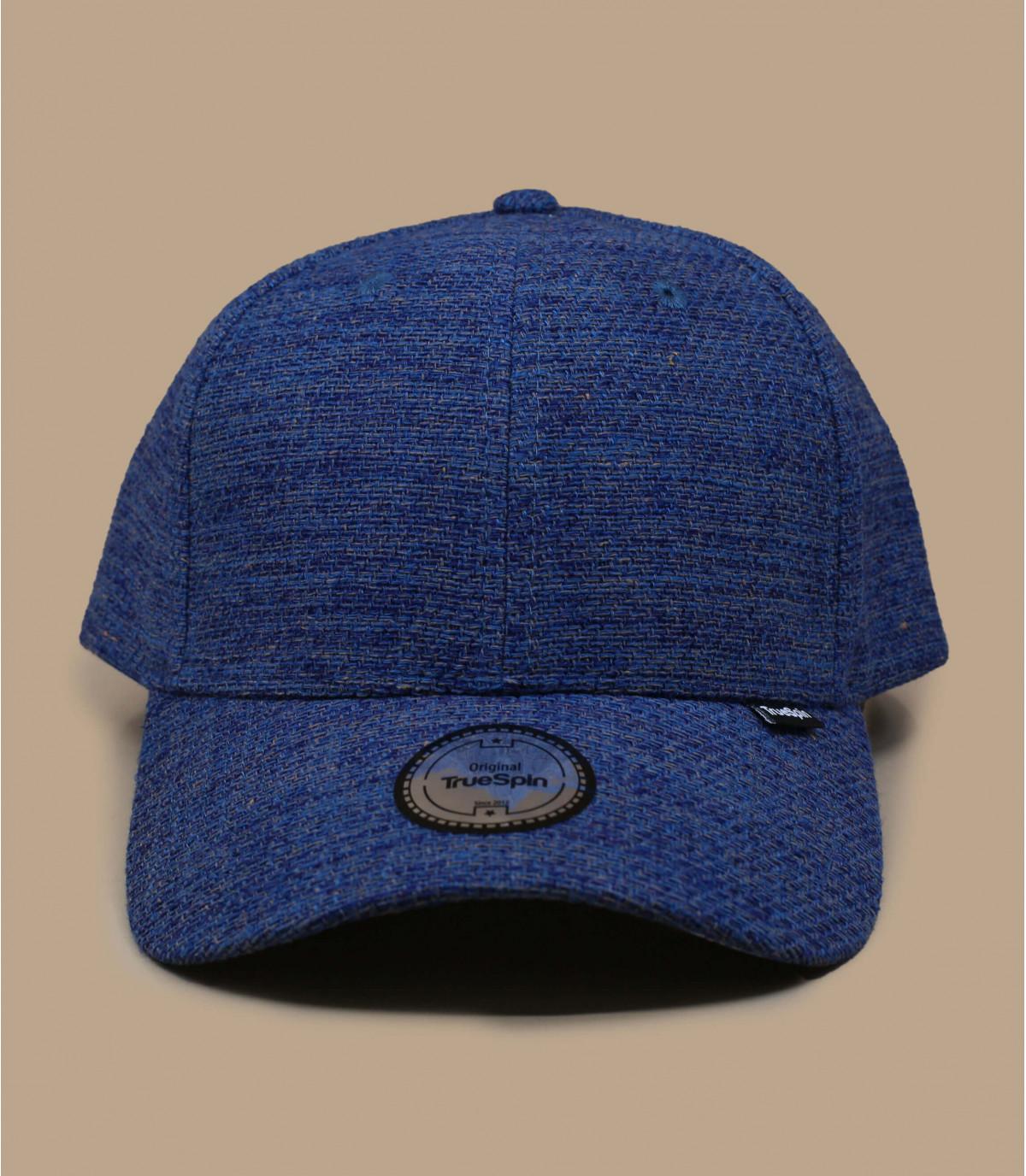 Blaue Cap Baumwolle Canvas