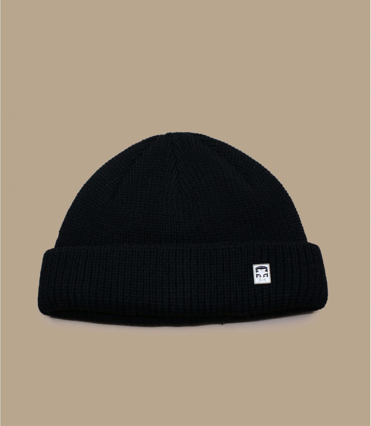 Docker Mütze schwarz Obey