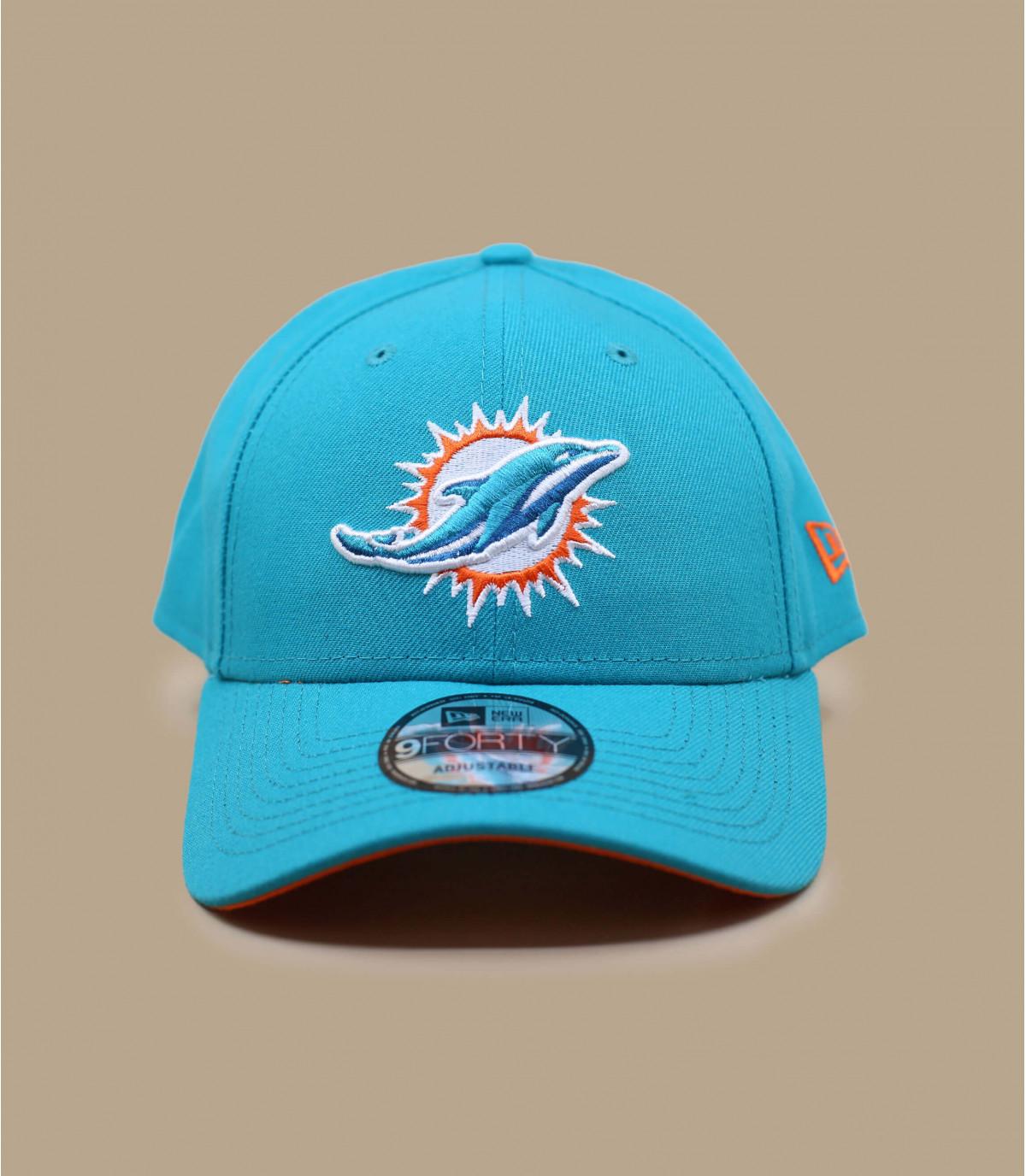 Blaue Dolphins Curved Cap