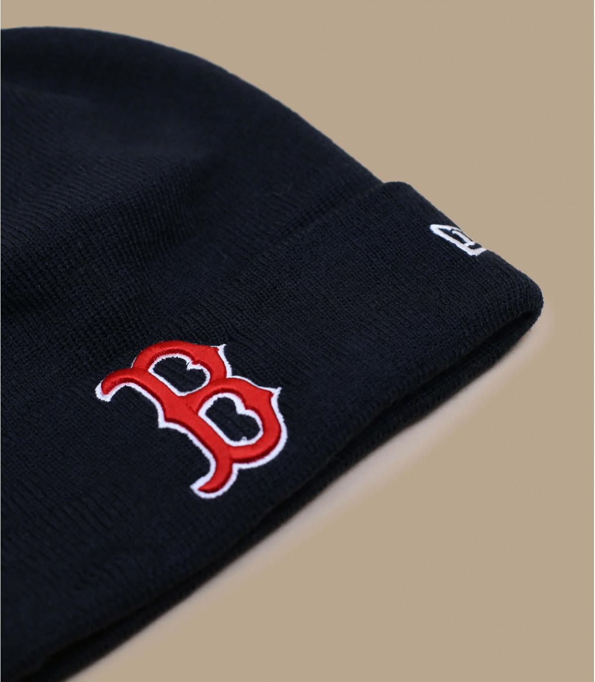 Mütze Rand Boston blau