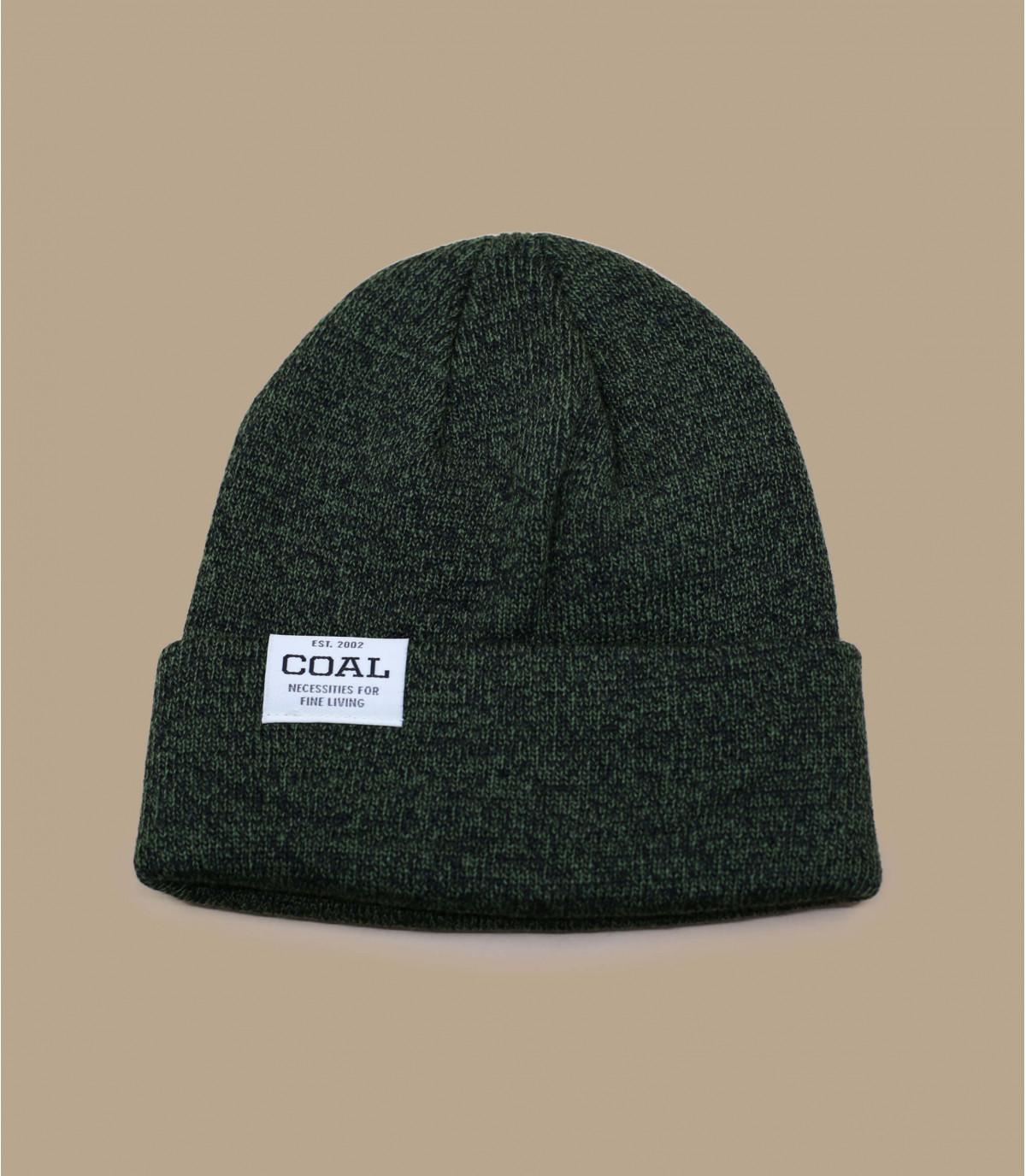 Cuff Mütze grau meliert Coal