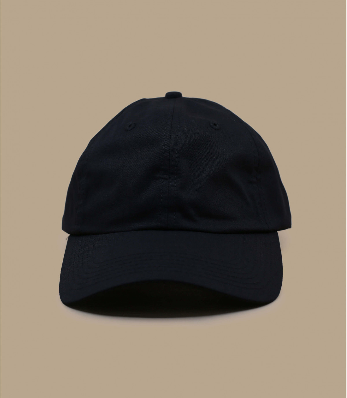 Dad Hat Blank black washed