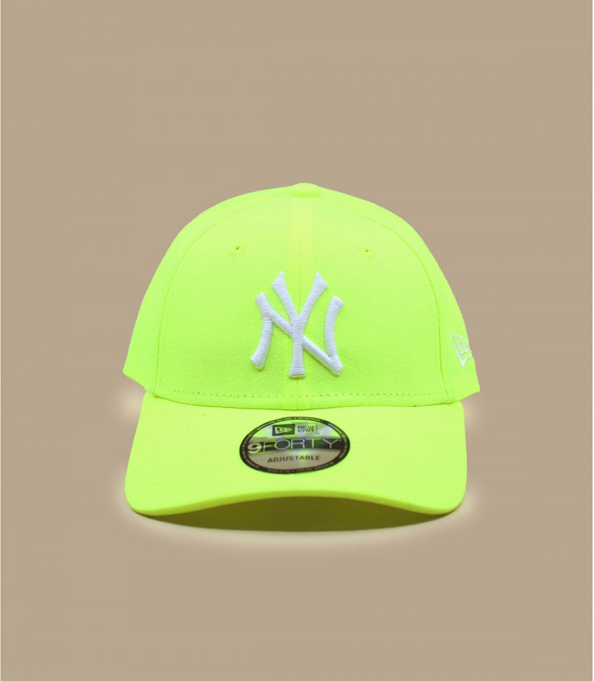 Details Cap NY 9forty neon yellow white - Abbildung 2