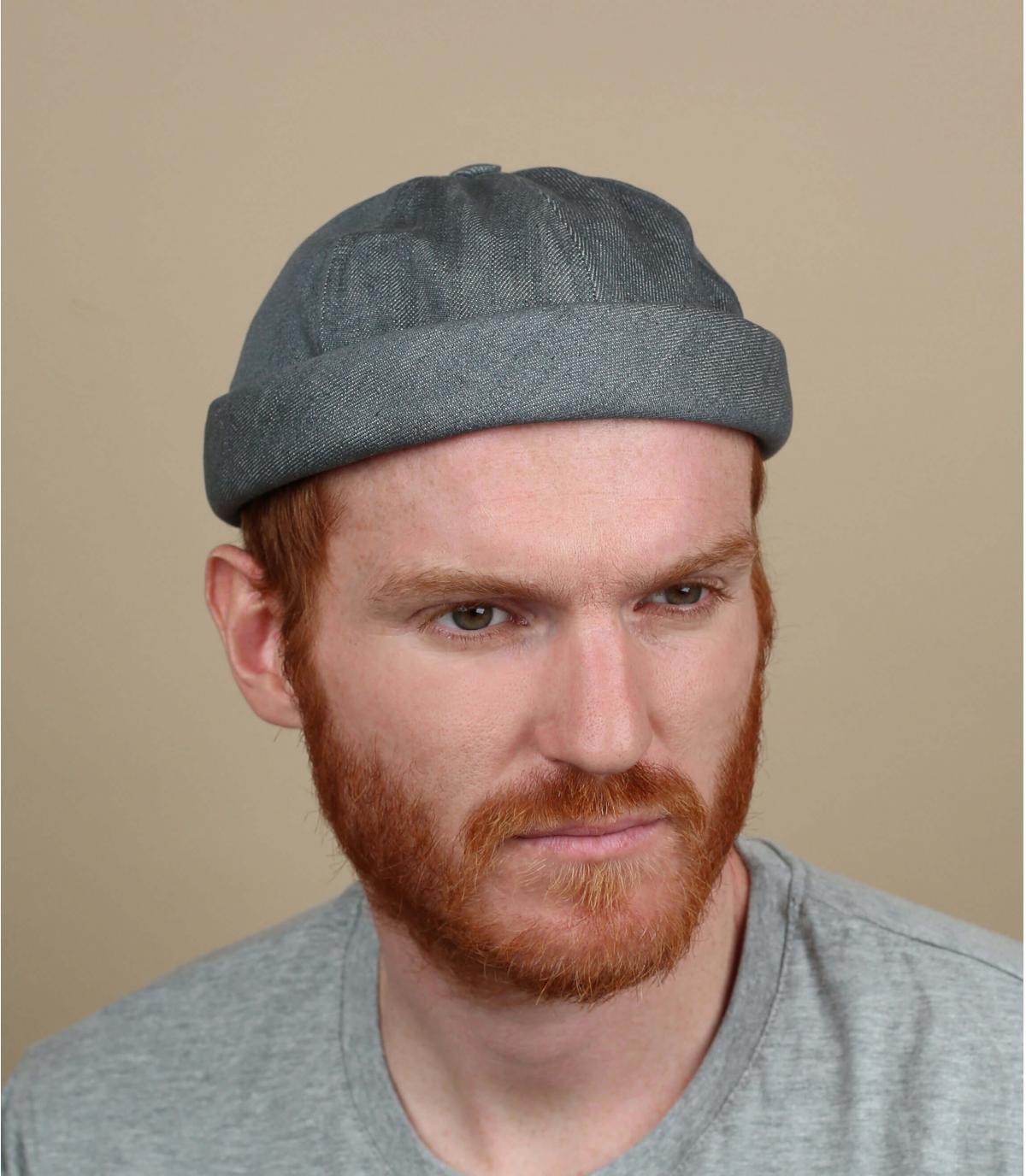 Mütze Docker grau