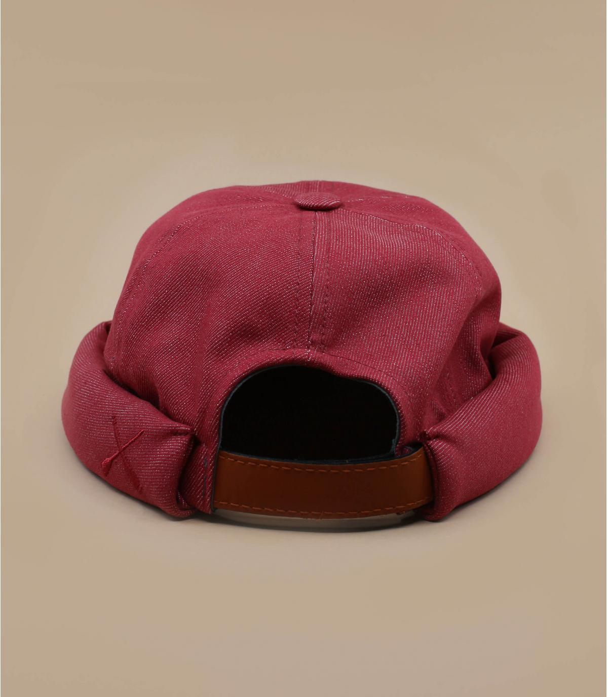 Mütze docker rot