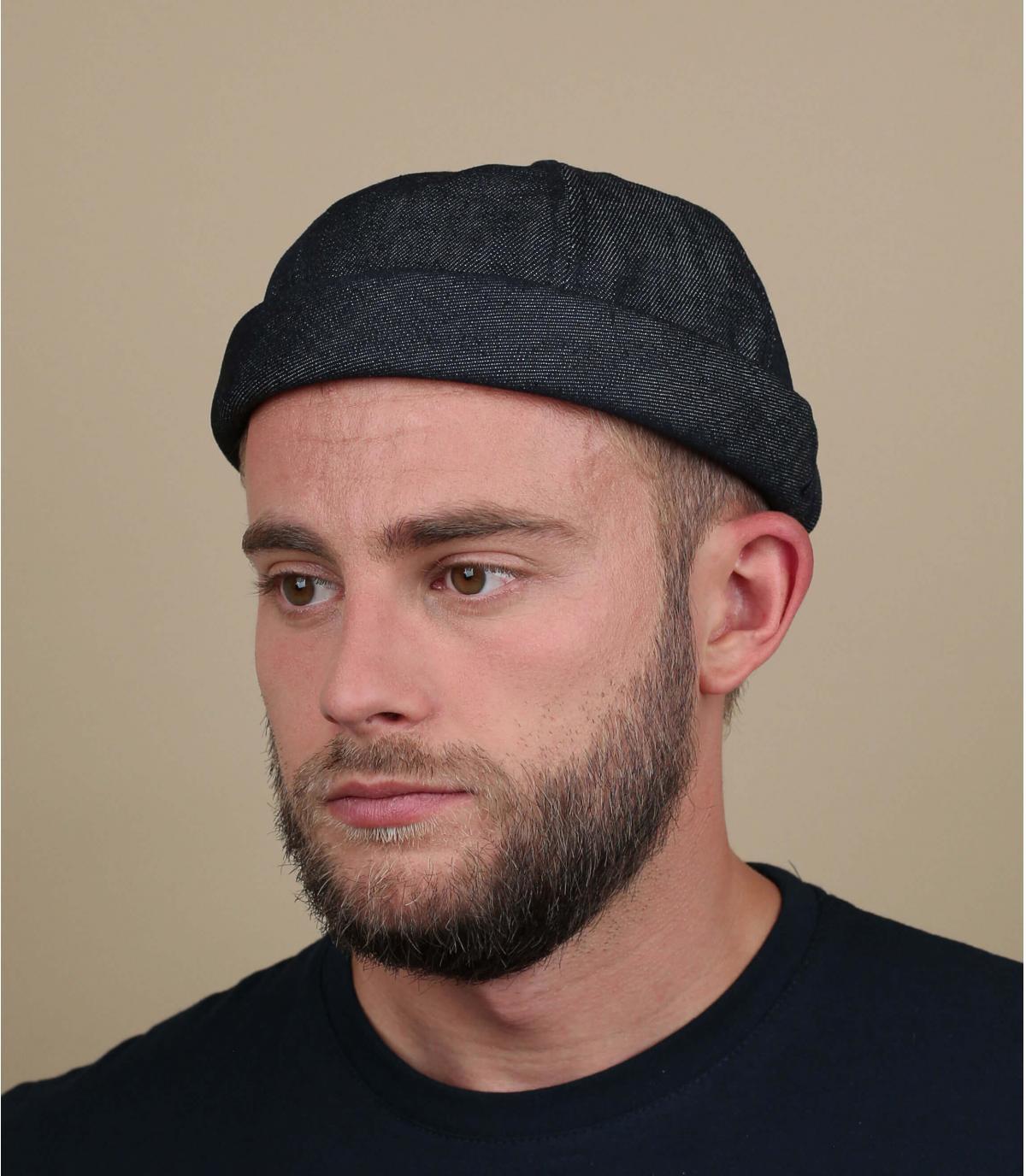 Mütze Docker marineblau